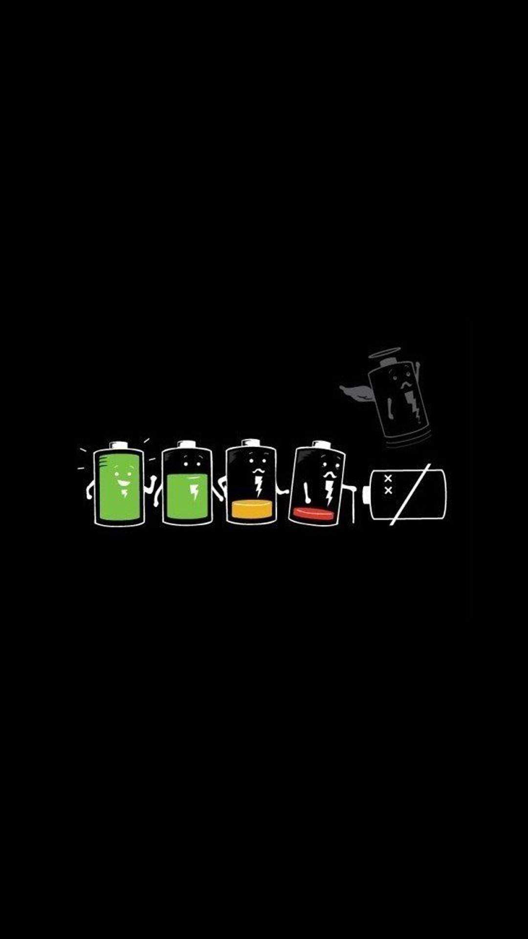 1080x1920 Battery Life Cycle Funny iPhone 6+ HD Wallpaper - http://freebestpicture.