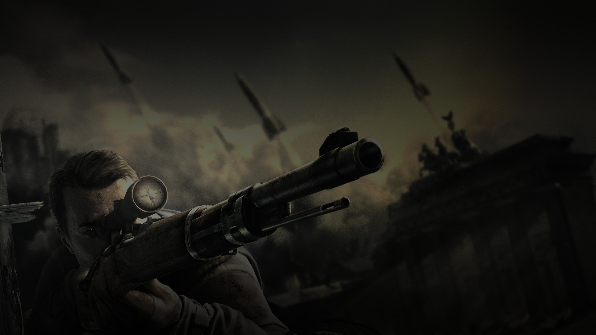 1920x1080 sniper elite wallpaper A1