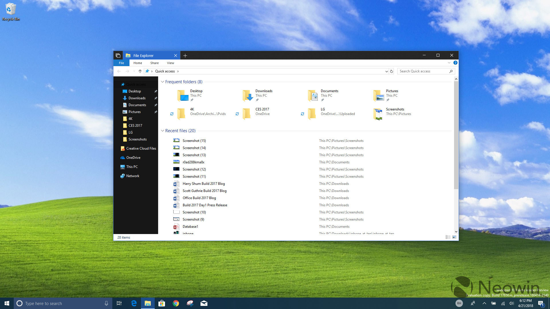 1920x1080 File Explorer is finally getting a dark theme in Windows 10 Redstone 5 -  Neowin