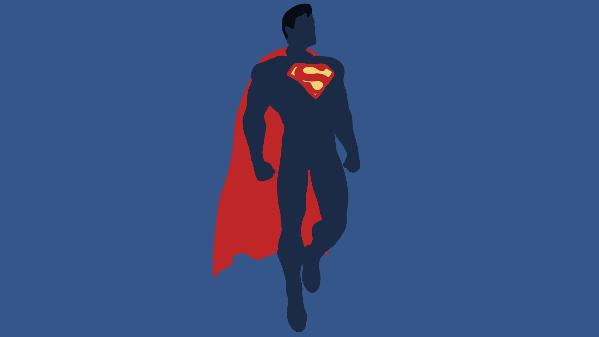 1920x1080 Preview wallpaper justice league, superman, dc comics, minimalism