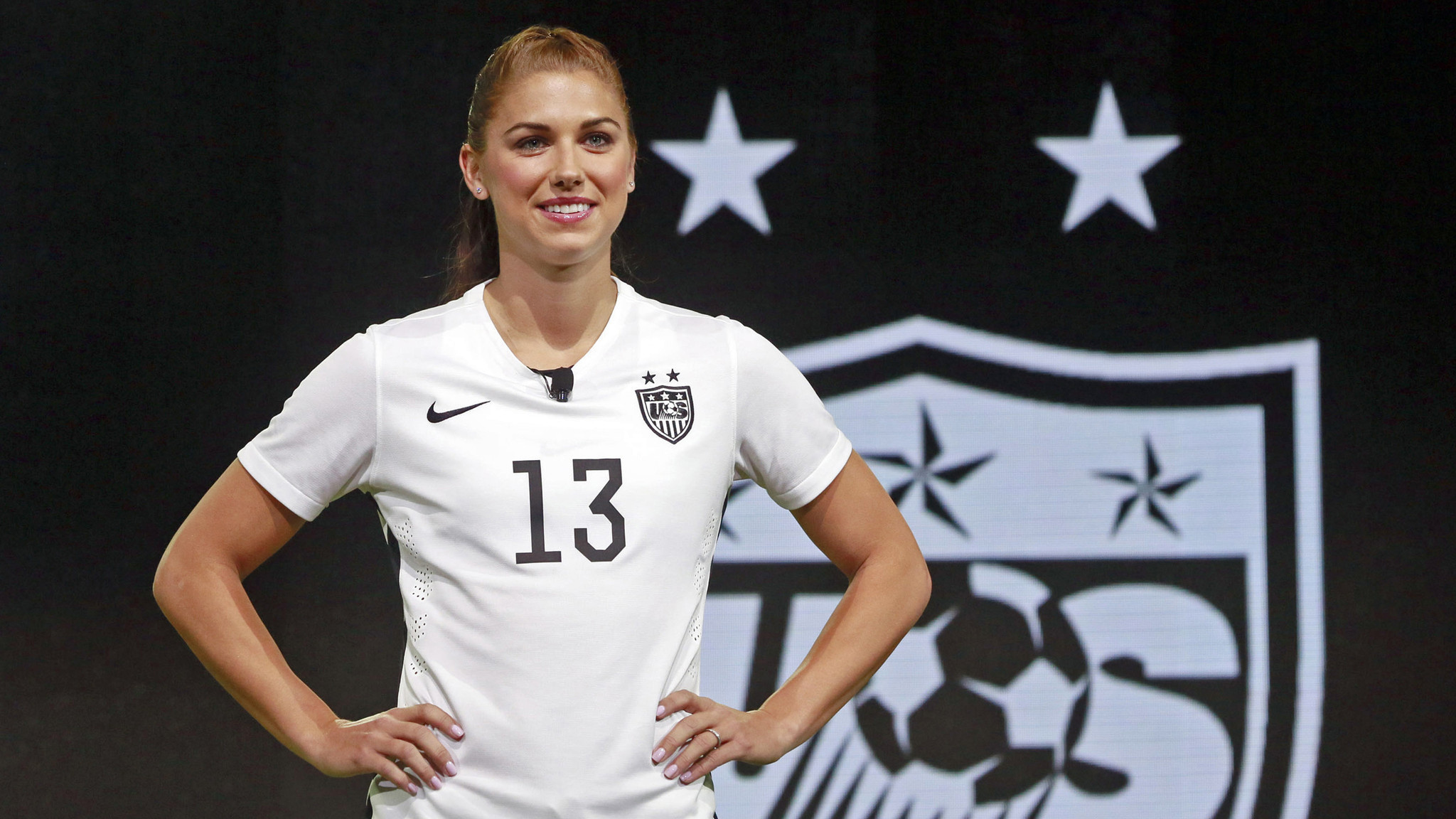 2048x1152 Alex Morgan to miss World Cup warmups because of knee injury - LA Times