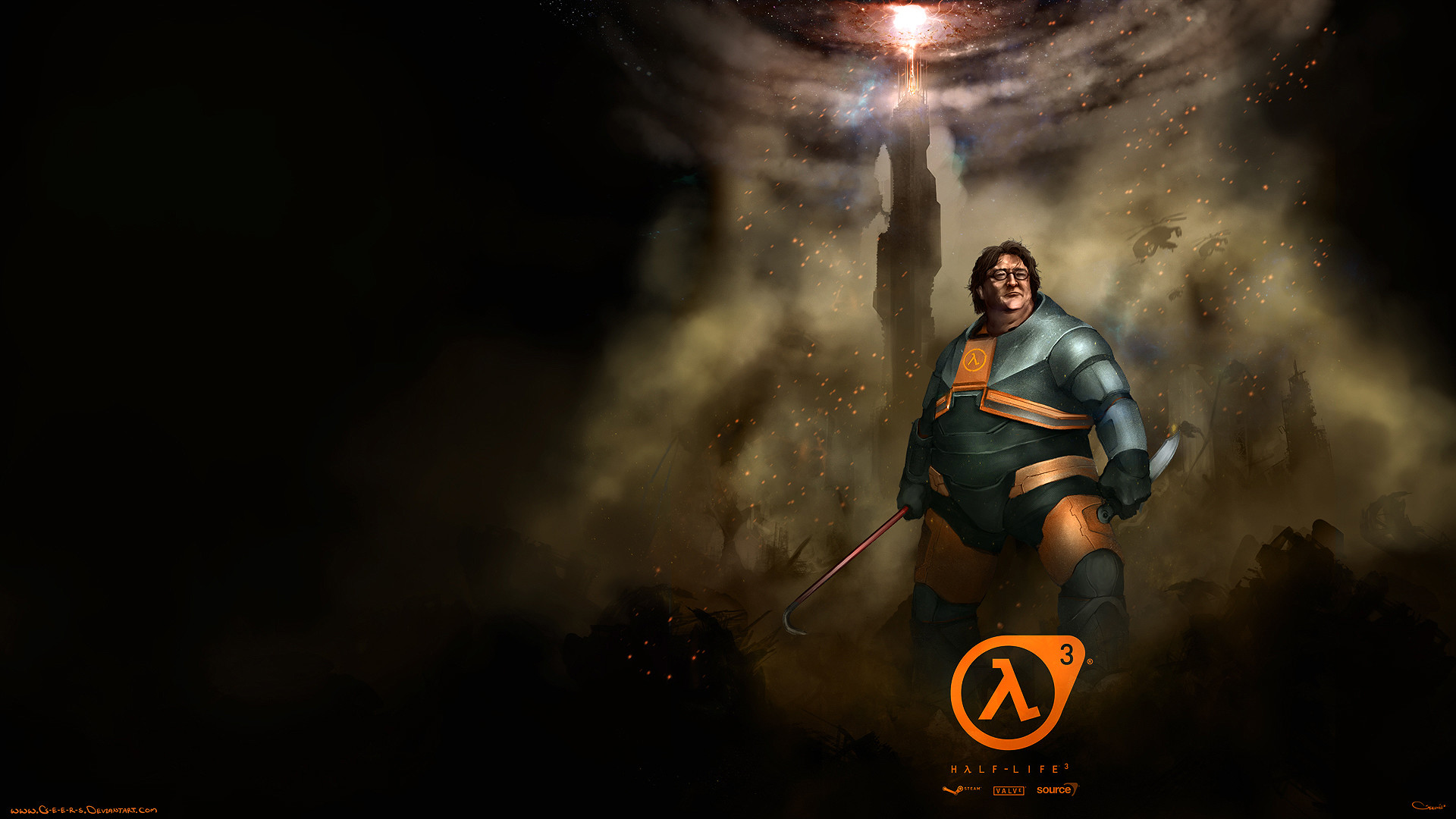 1920x1080 Video Game - Half-Life 3 Gabe Newell Gaben Half-Life Wallpaper