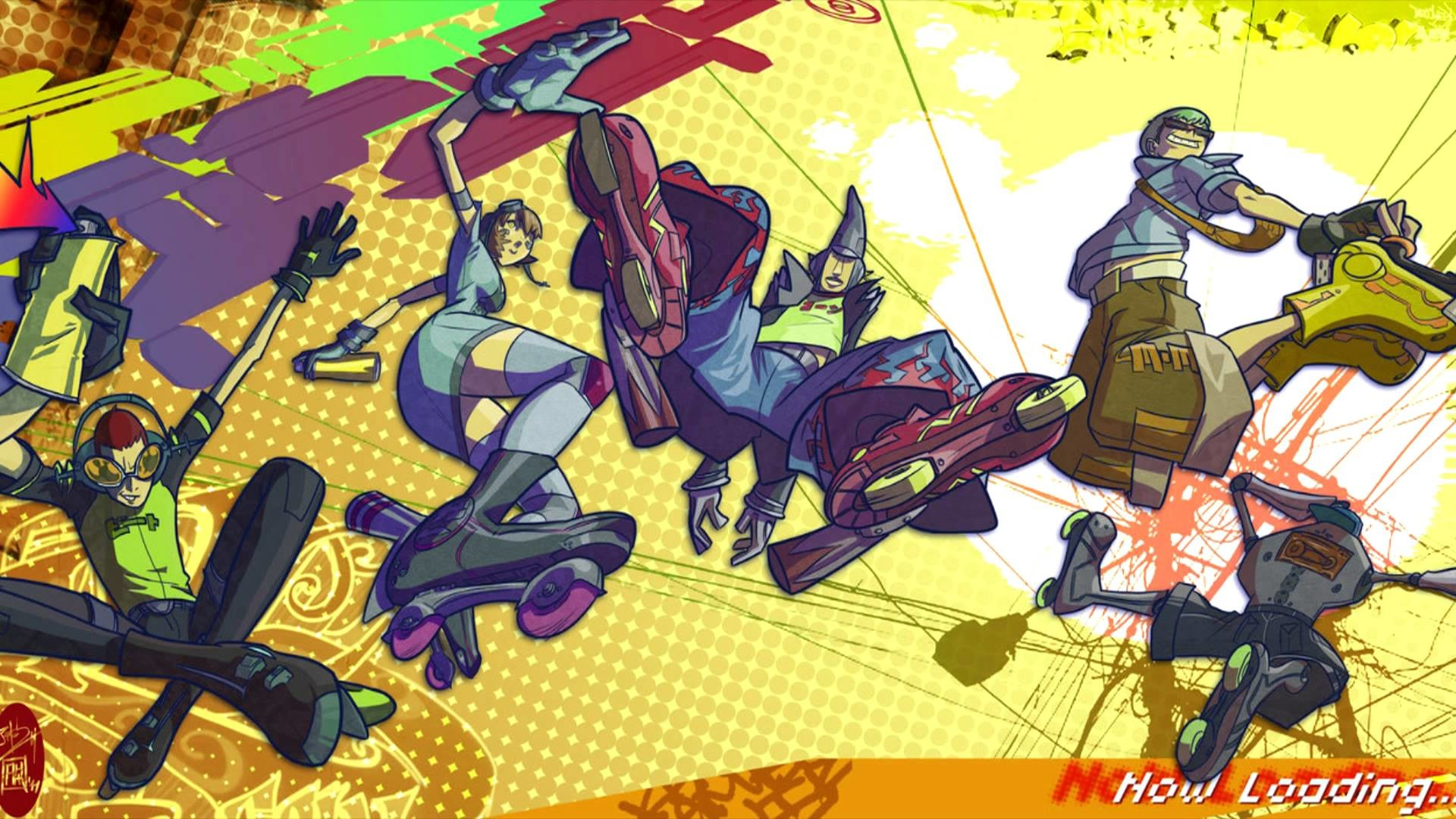 Jet Set Radio Future Wallpaper 65 Images