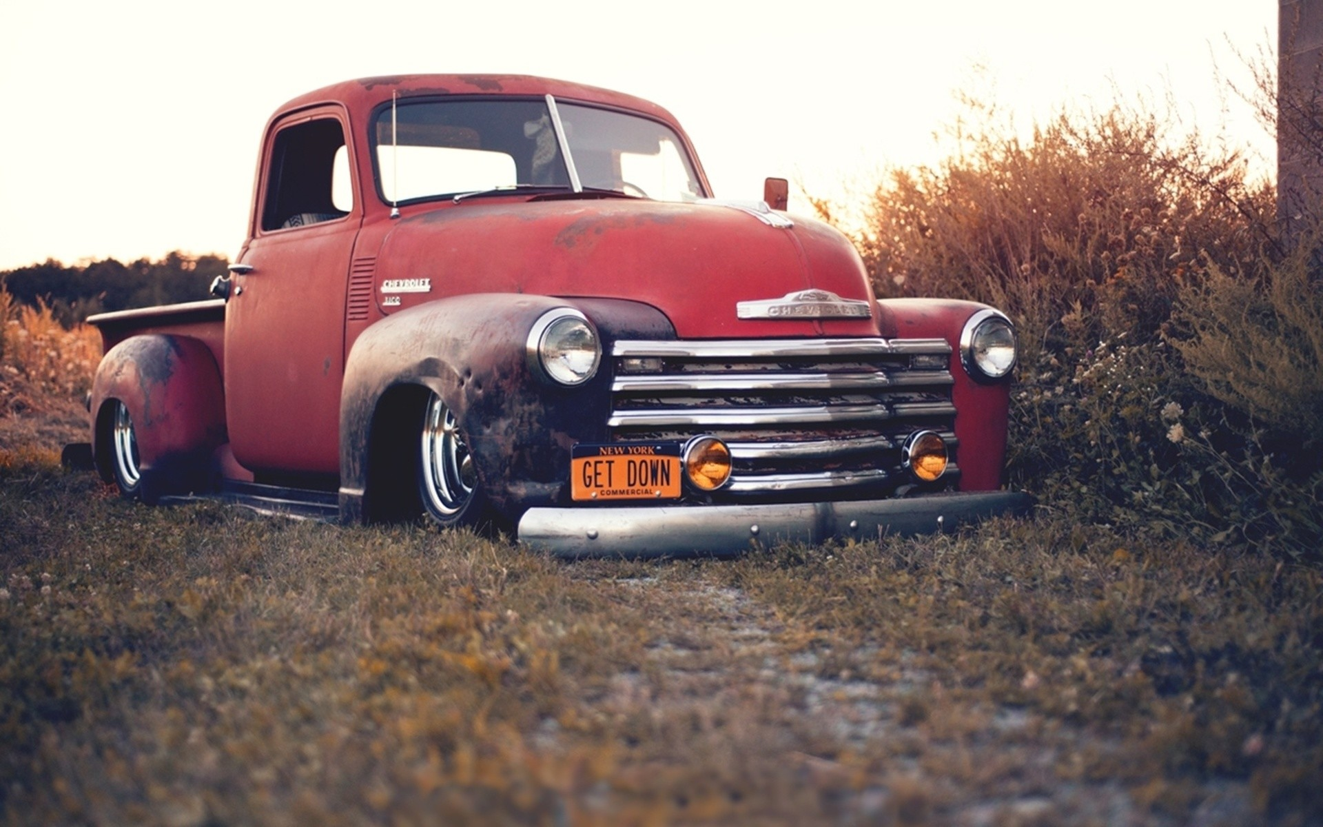 Old Chevy Truck Wallpapers 44 Images 1957 Rat Rod 1920x1200 Ford Publicity Pickup