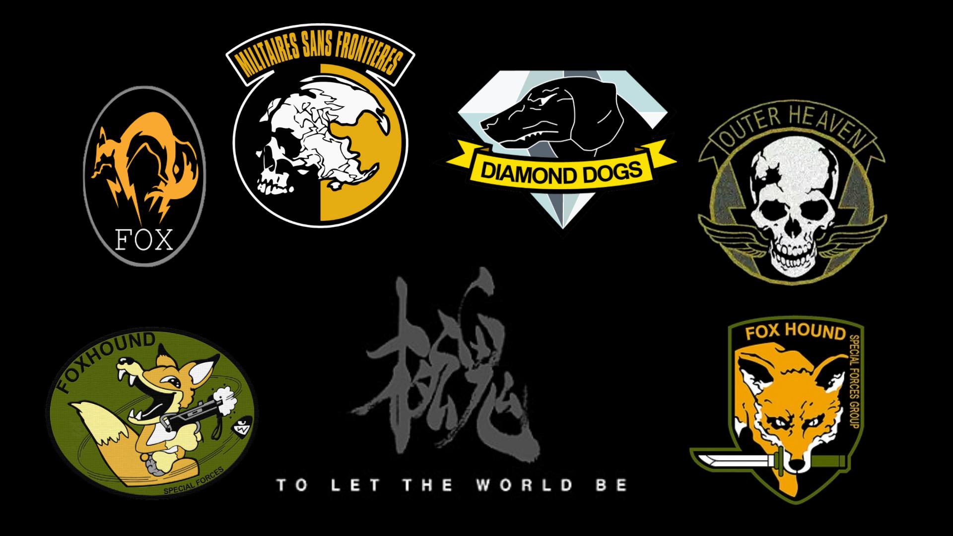Foxhound Logo Wallpaper Hd