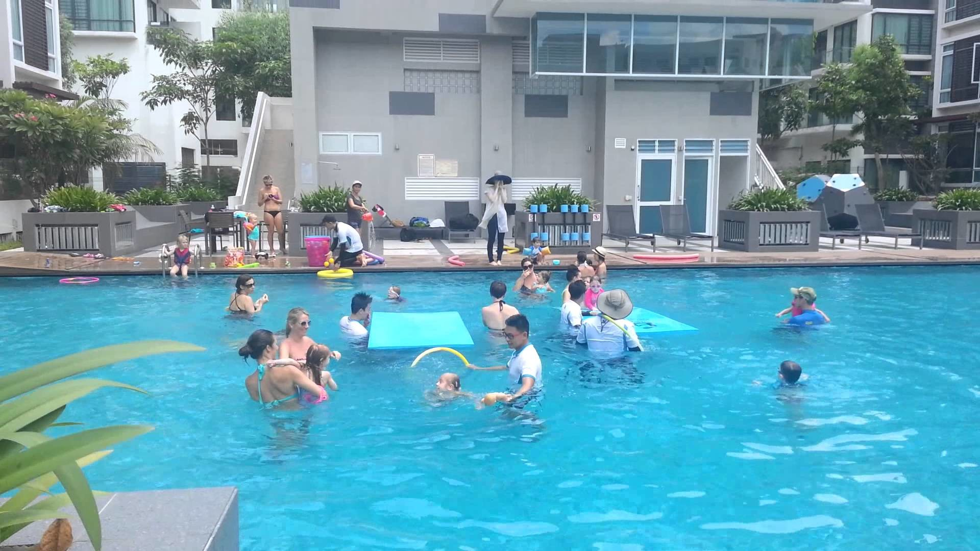 Kids In Swimming Pool Wallpaper 64 Images