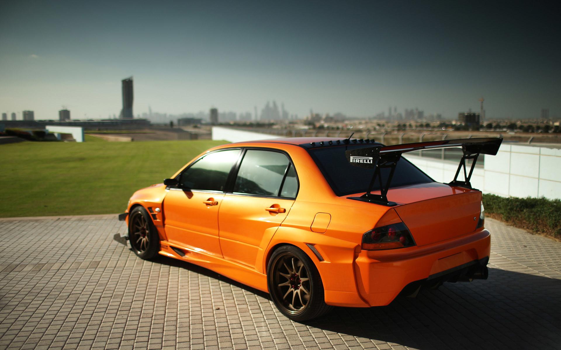 Mitsubishi evolution wallpapers