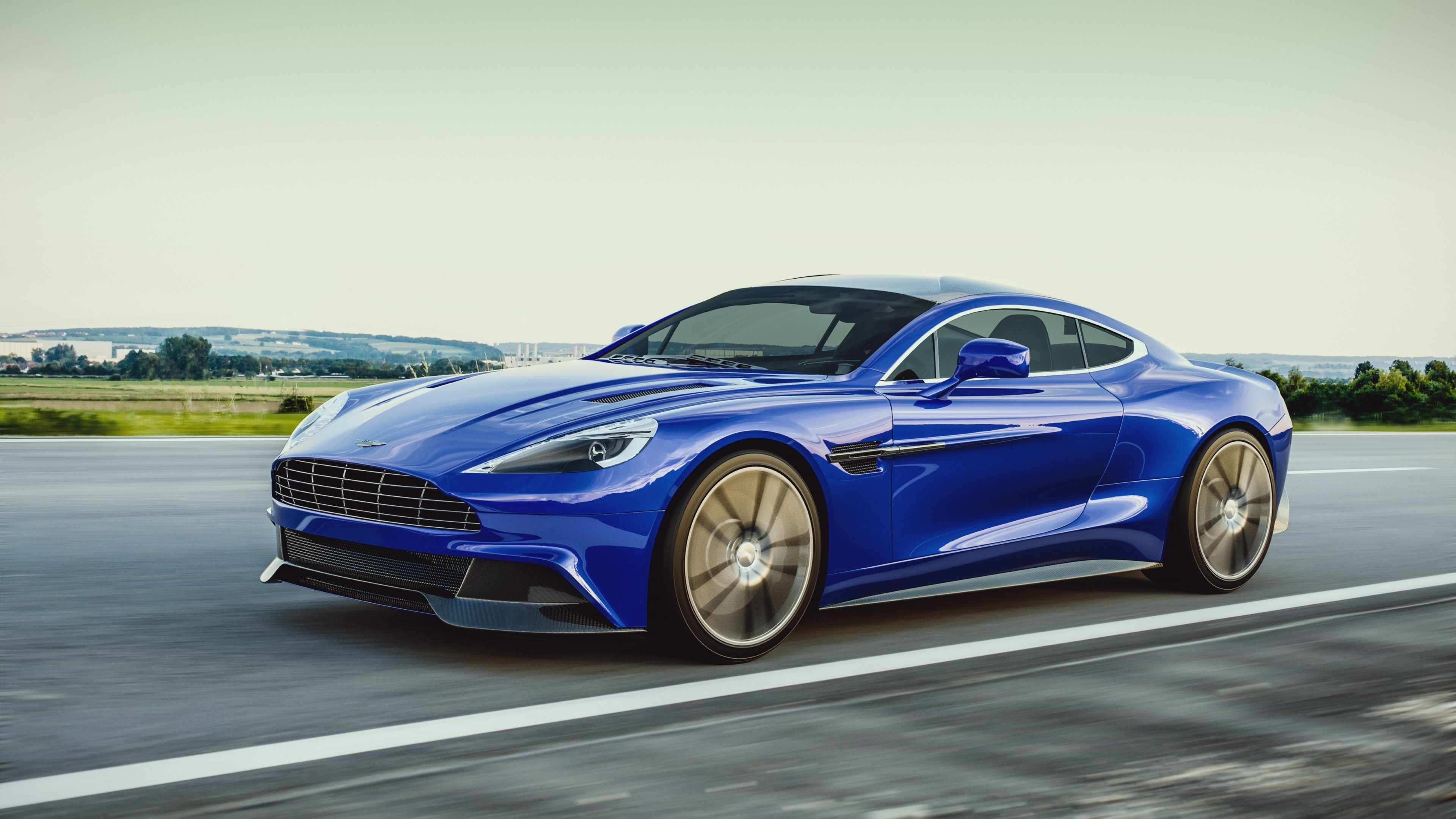 Delicieux 1920x1080 Aston Martin Vanquish Side Crystal City Car 2014  .