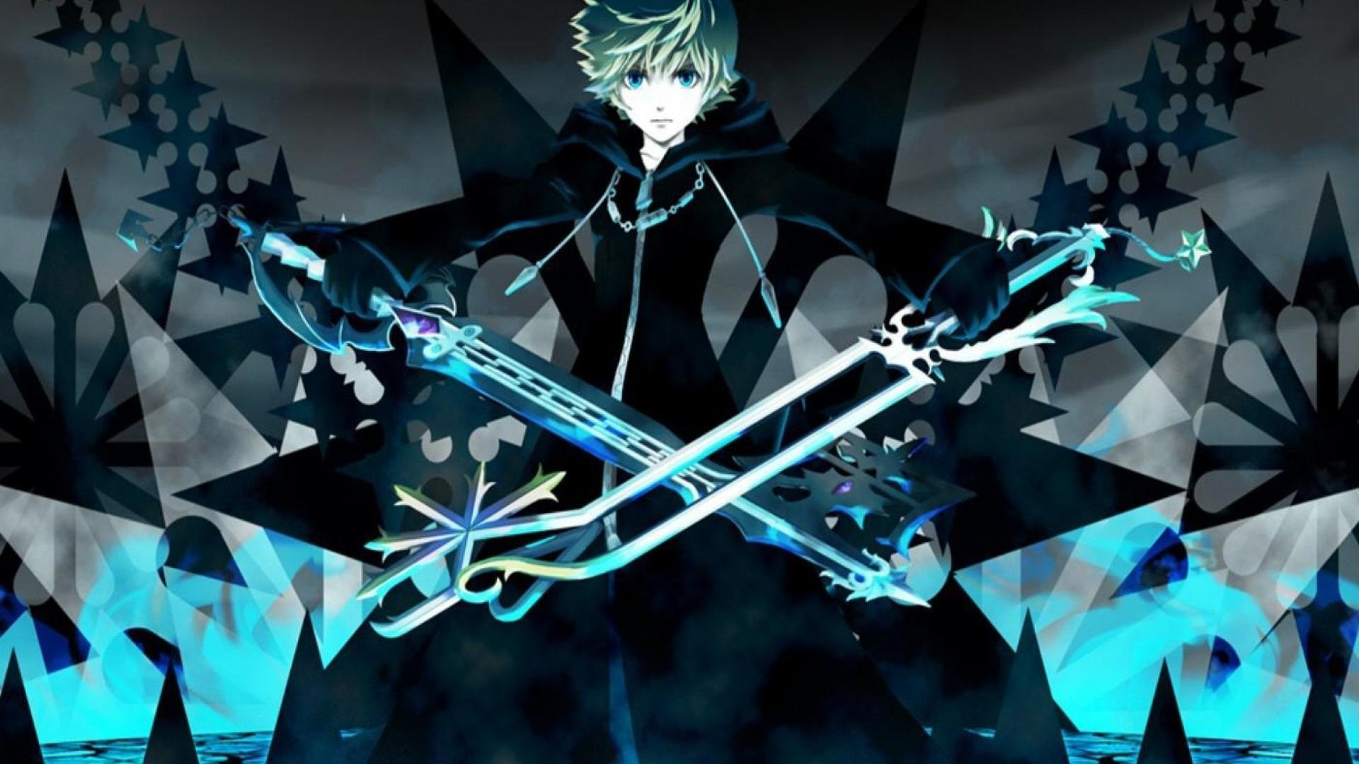1920x1080 Kingdom Hearts Roxas Wallpapers Desktop Background