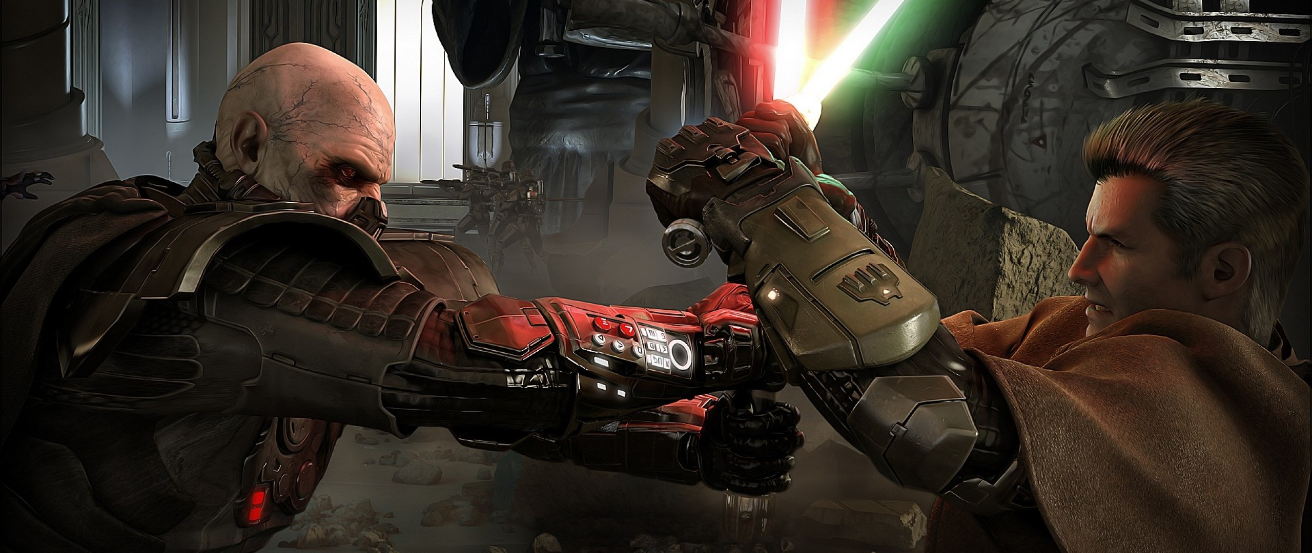 2560x1080 Preview wallpaper star wars the old republic, star wars, darth malgus