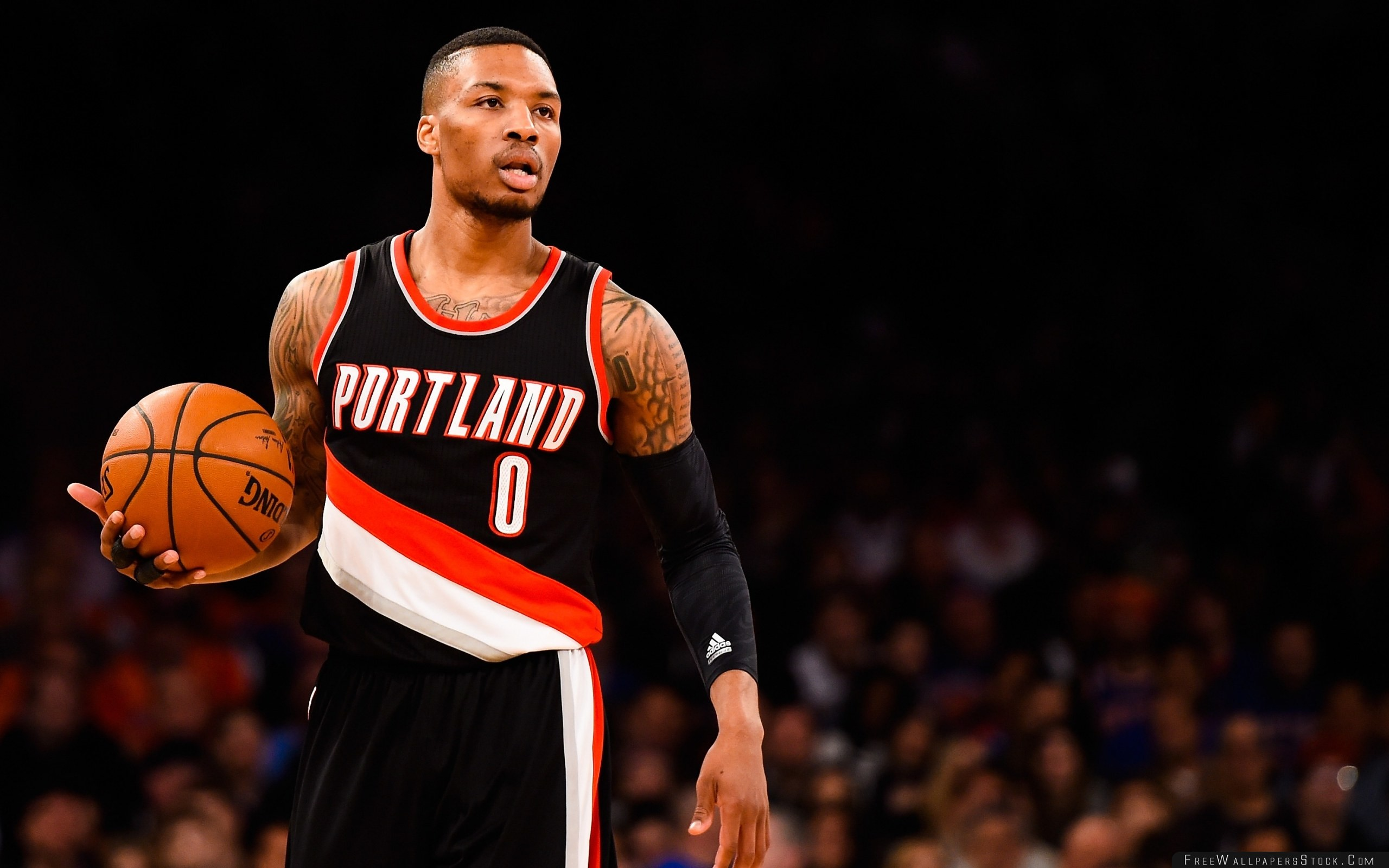 2560x1600 Download Free Wallpaper Damian Lillard Basketball Nba Portland Trail Blazers