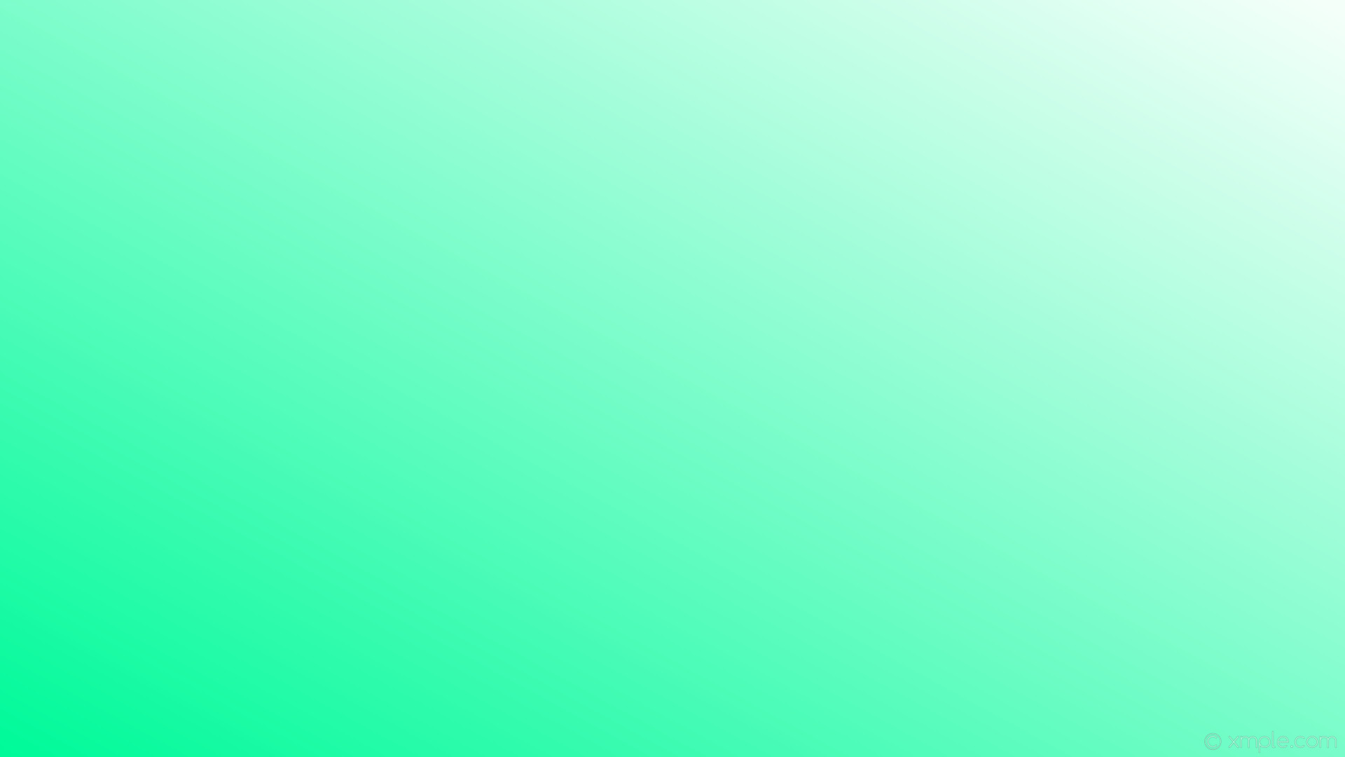 1920x1080 wallpaper green gradient linear white mint cream medium spring green  #f5fffa #00fa9a 30°