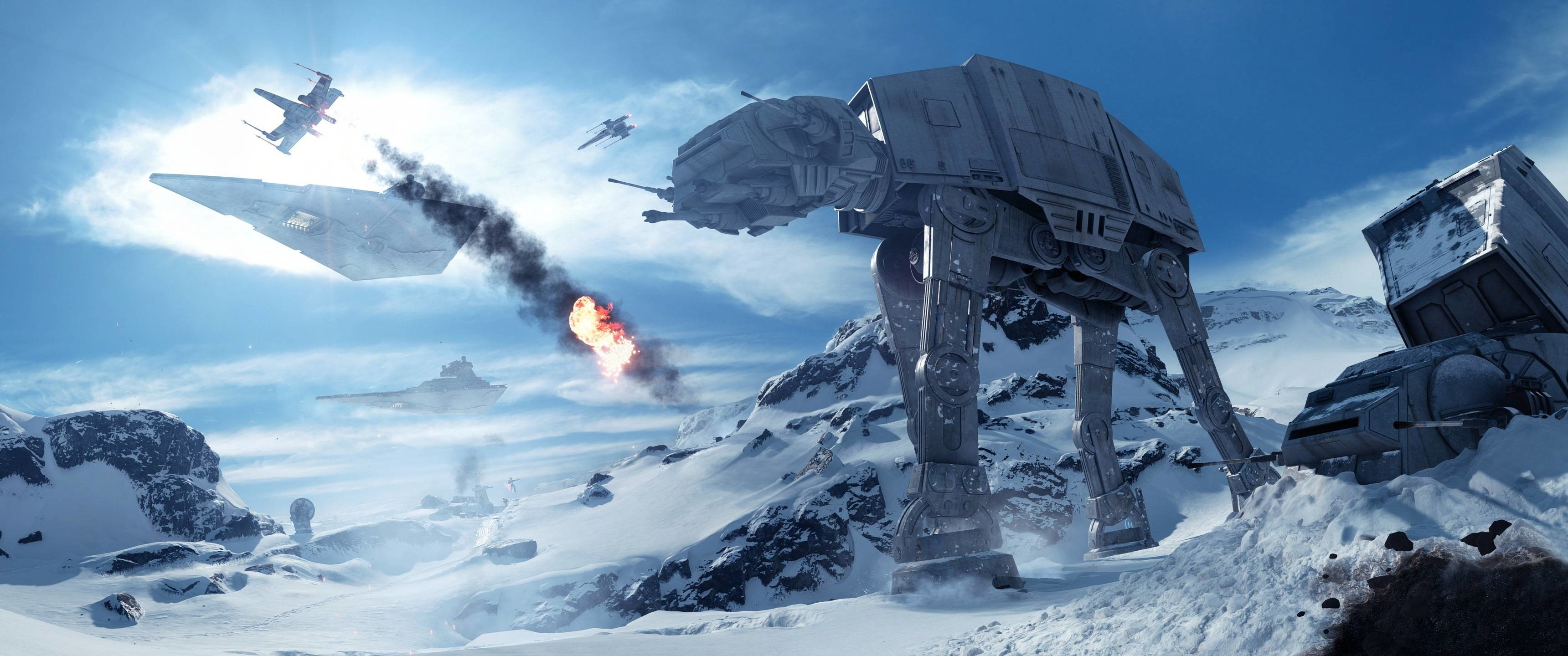 3440x1440 Star Wars: Battlefront [] ...