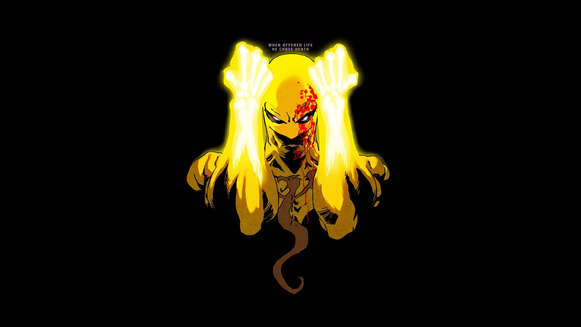 Iron fist wallpaper 74 images - Wallpaper abyss categories ...