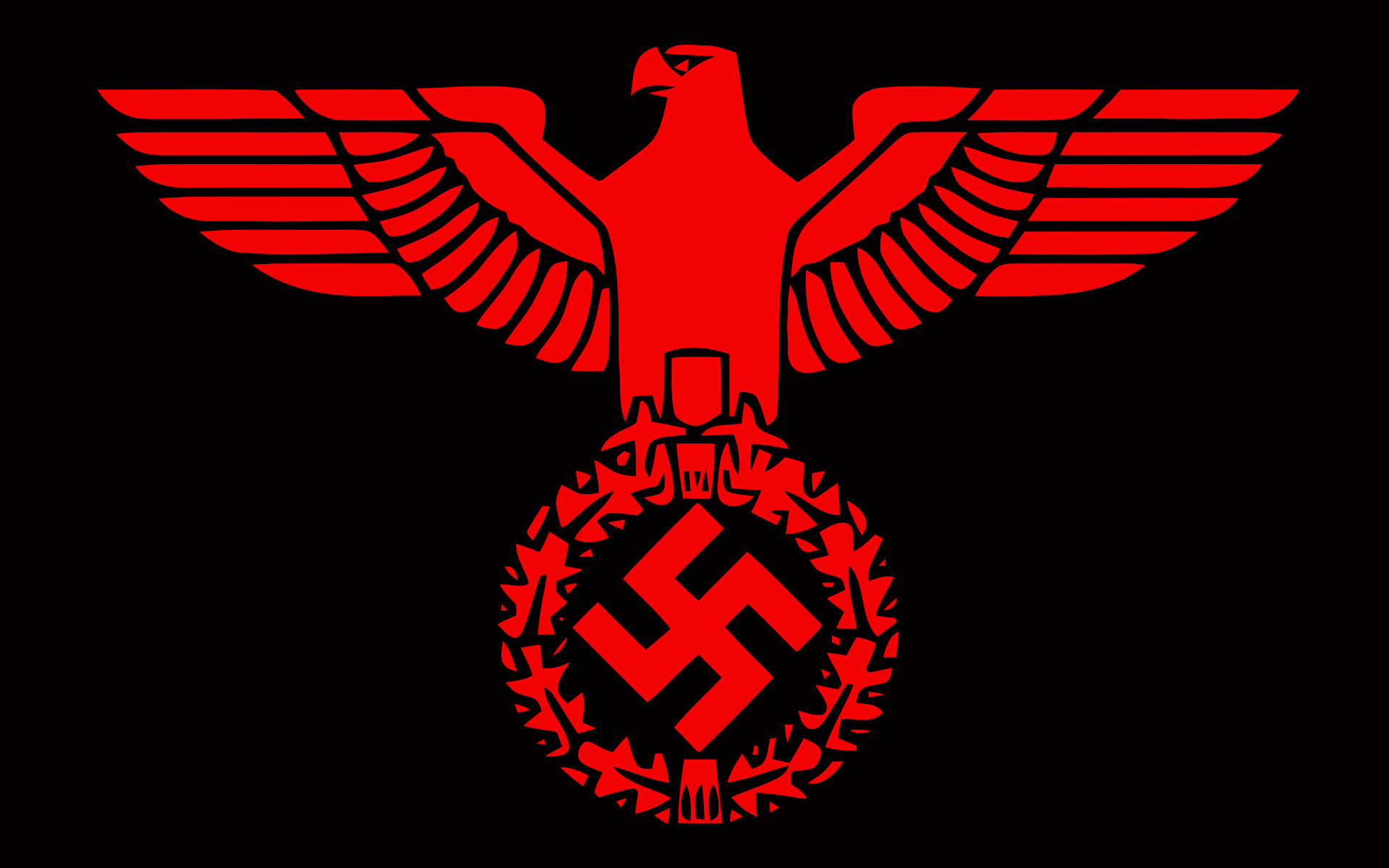 Swastika Eagle Wallpaper