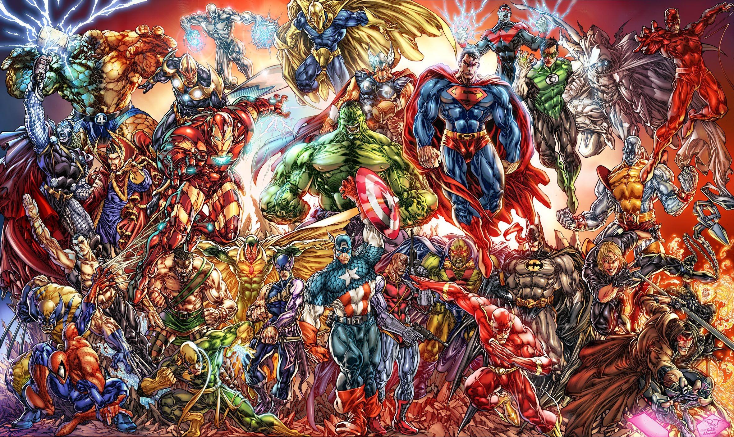 Comic Book Wallpapers for Desktop (77+ images)