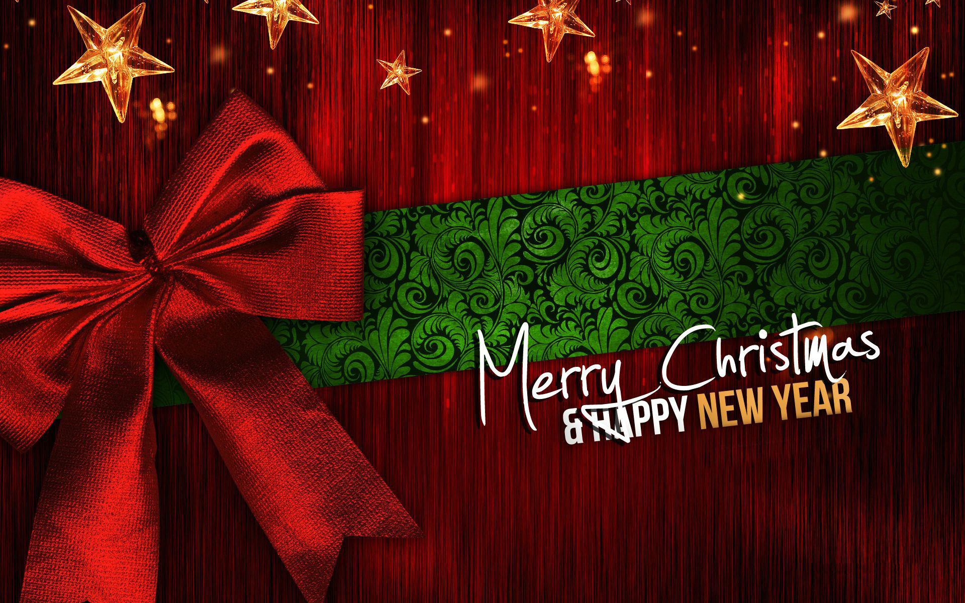 1920x1200 merry christmas and happy new year hd wallpapers