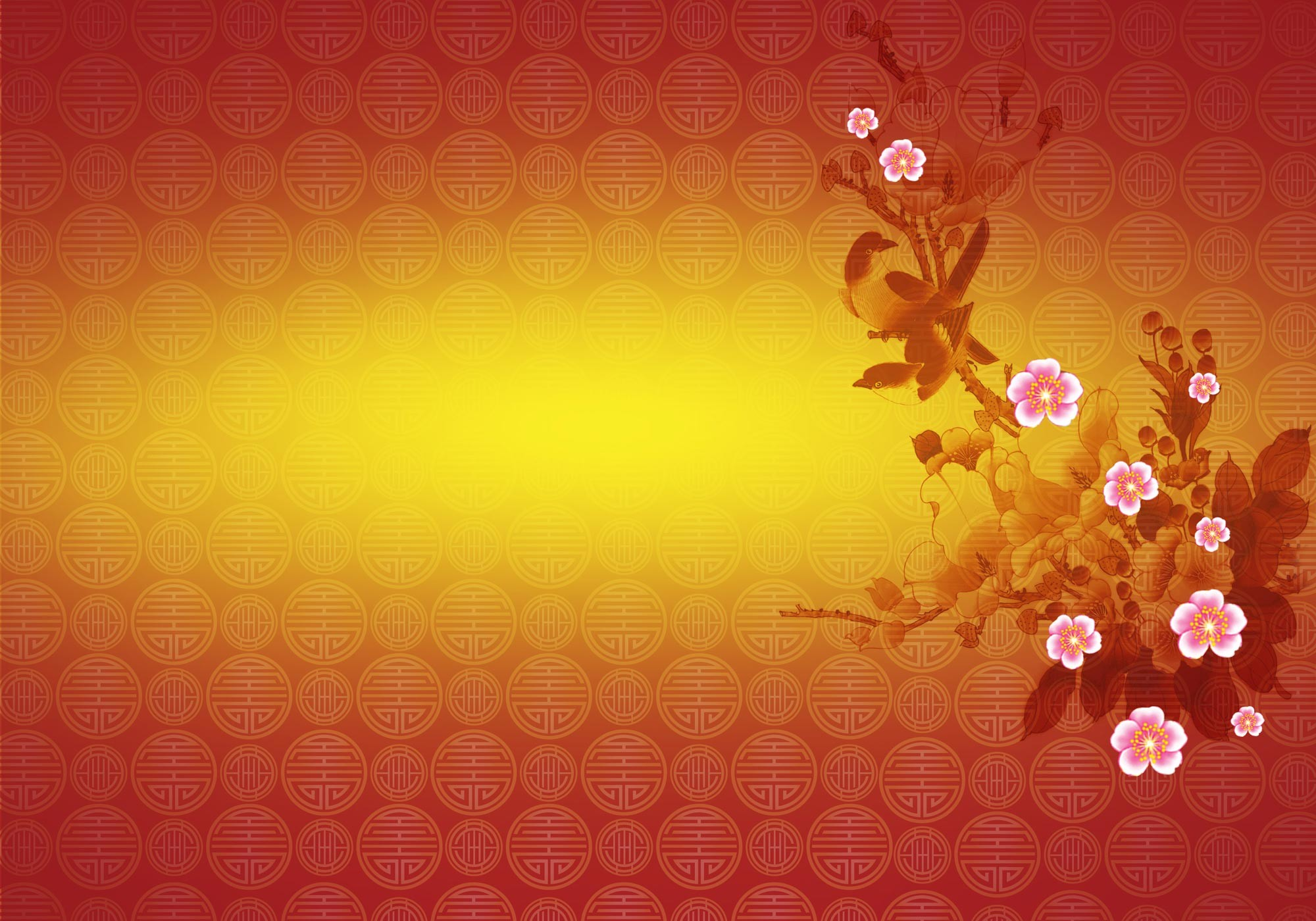 2000x1400 ... chinese new year 2017 background design with free psd file · chinese  wallpaper designs ...