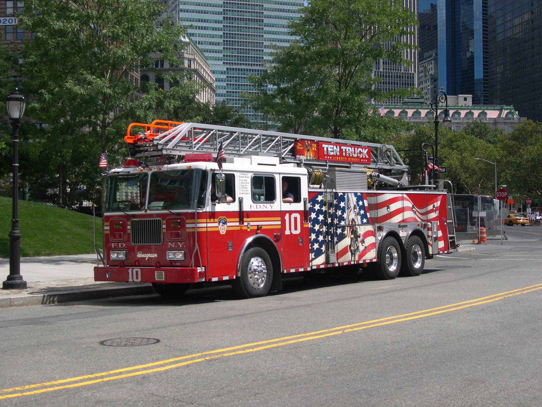 2272x1704 ... Wallpapers · High Resolution Graceful Fire Truck Background Images by  Terry Risley 1485102