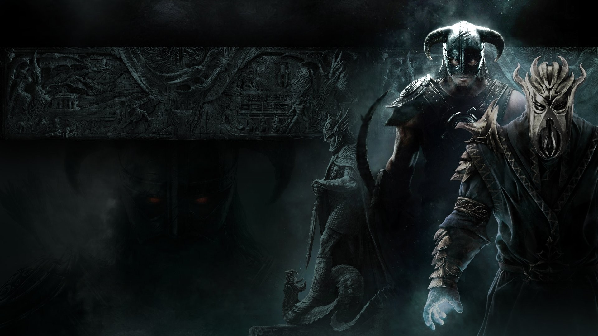1920x1080 ... Miraak [Wallpaper] by bluesonic1 on DeviantArt ...