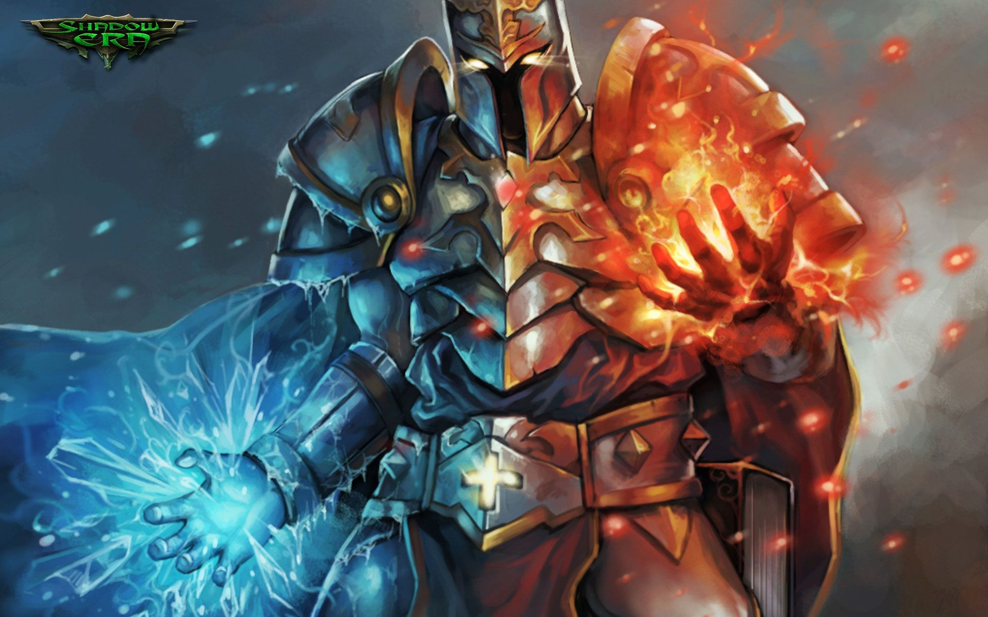 1920x1200 Paladin of Unaxio desktop background from Shadow Era trading card game  Wallpaper Gallery, Paladin,