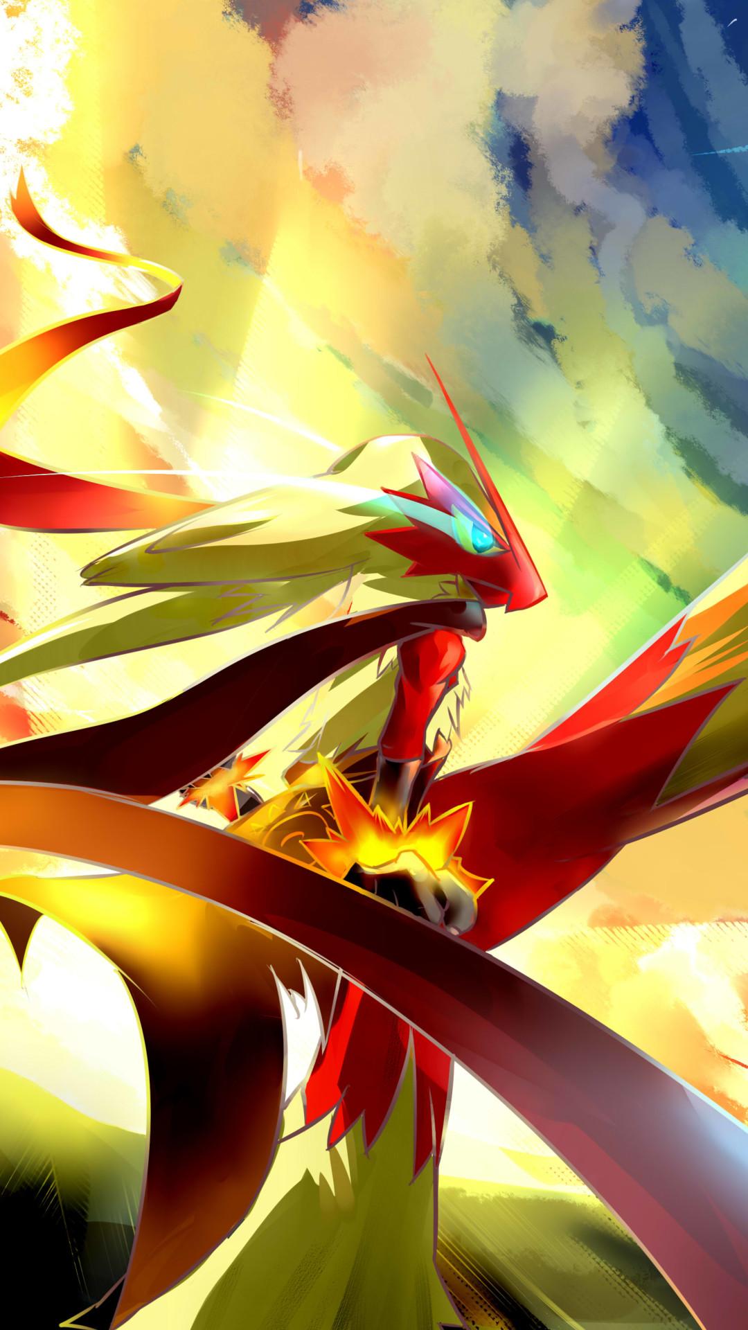 2560x1440 Blaziken Pokemon Wallpaper