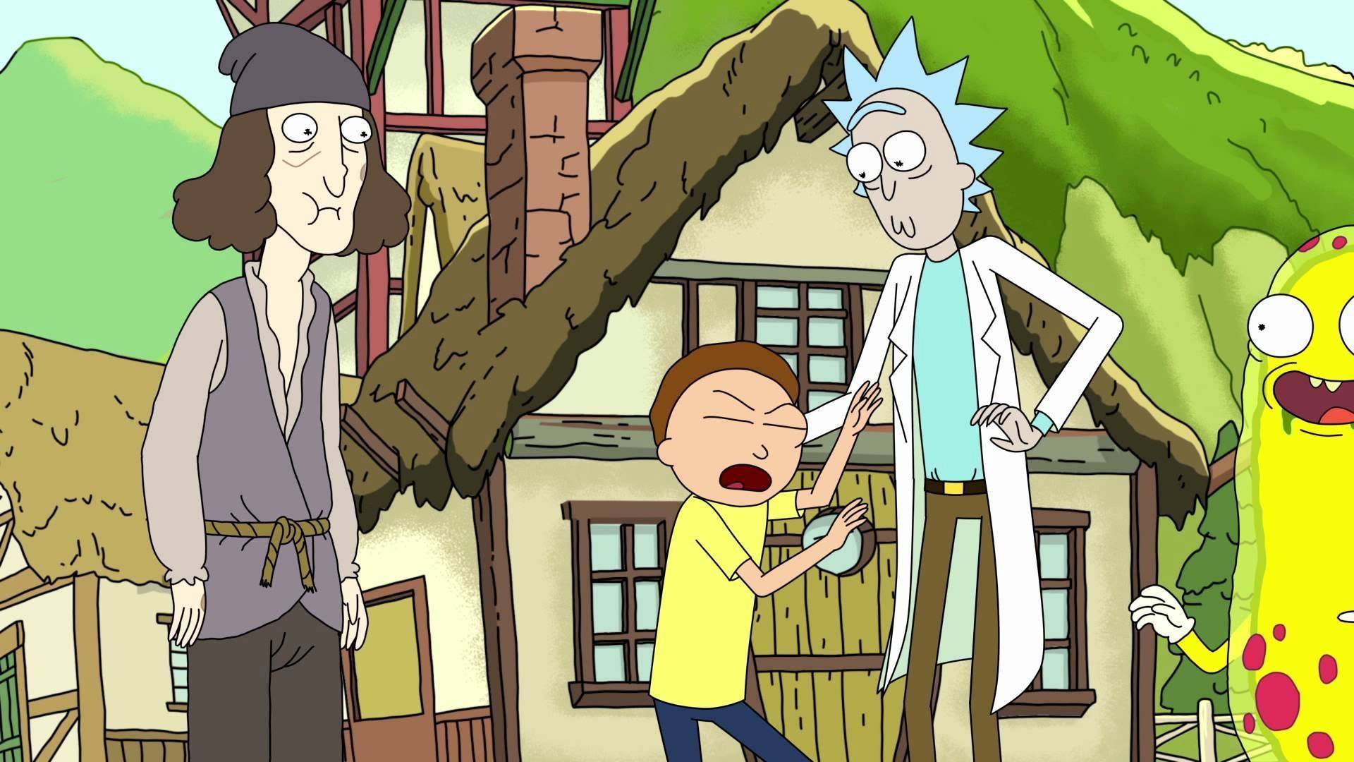 2560x1080 ImageA Rick And Morty Wallpaper (2560x1080 as requested by MnMWiz) .