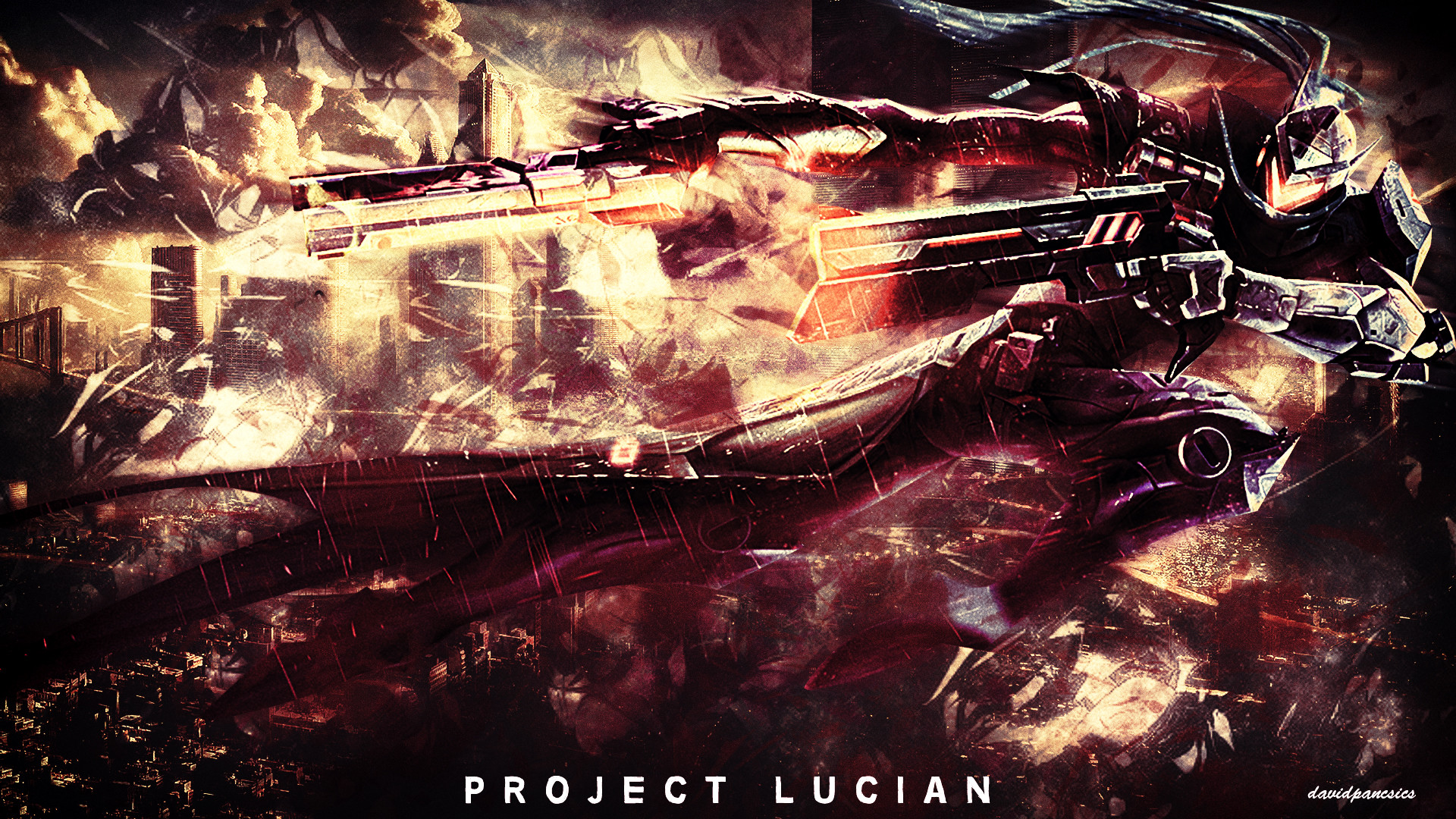 1920x1080 ... League Of Legends - PROJECT Lucian wallpaper by pancsicsdavid