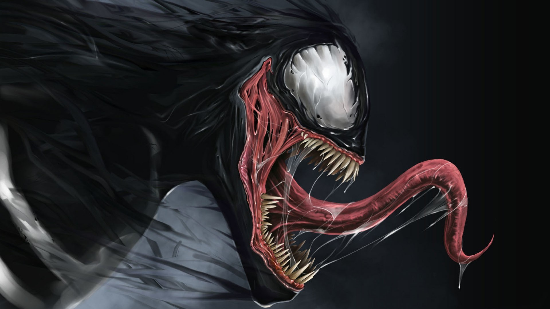 1920x1080 Preview wallpaper venom, marvel comics, spider-man