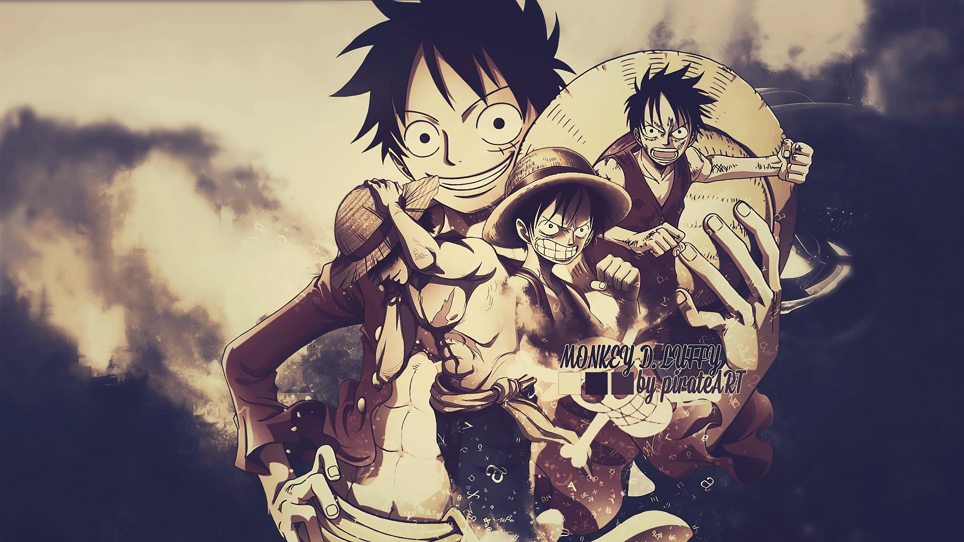 1920x1080 Monkey D Luffy Wallpapers High Quality | Download Free