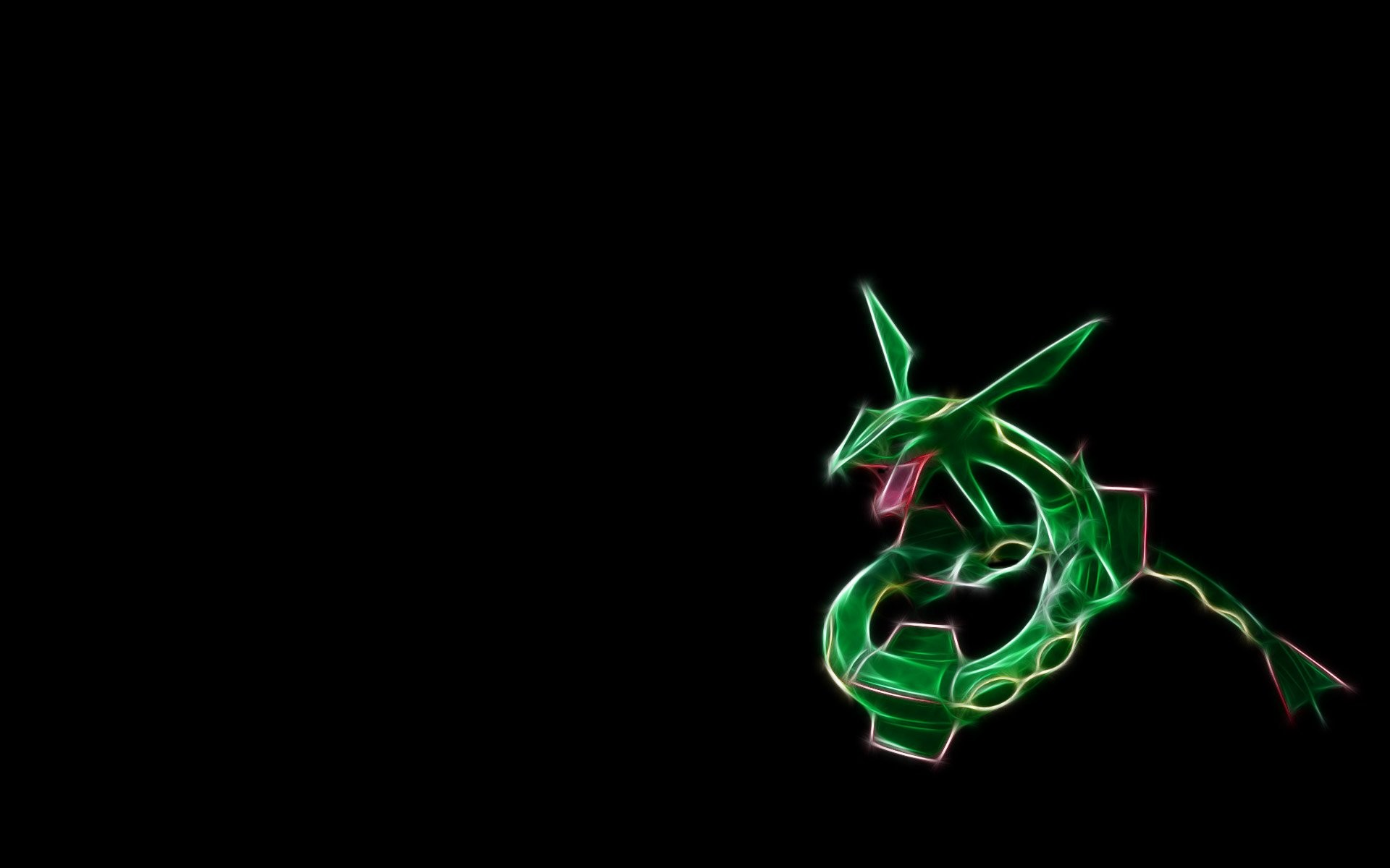 1920x1200 Anime - Pokémon Rayquaza (Pokémon) Legendary Pokémon Wallpaper