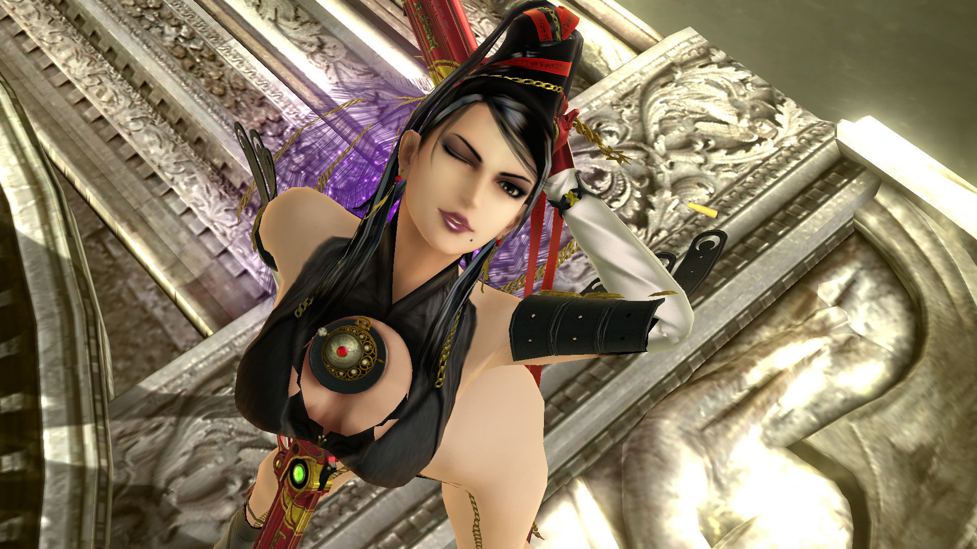 1920x1080 Removed Glasses/Thicc/Uncensored Bayonetta ...