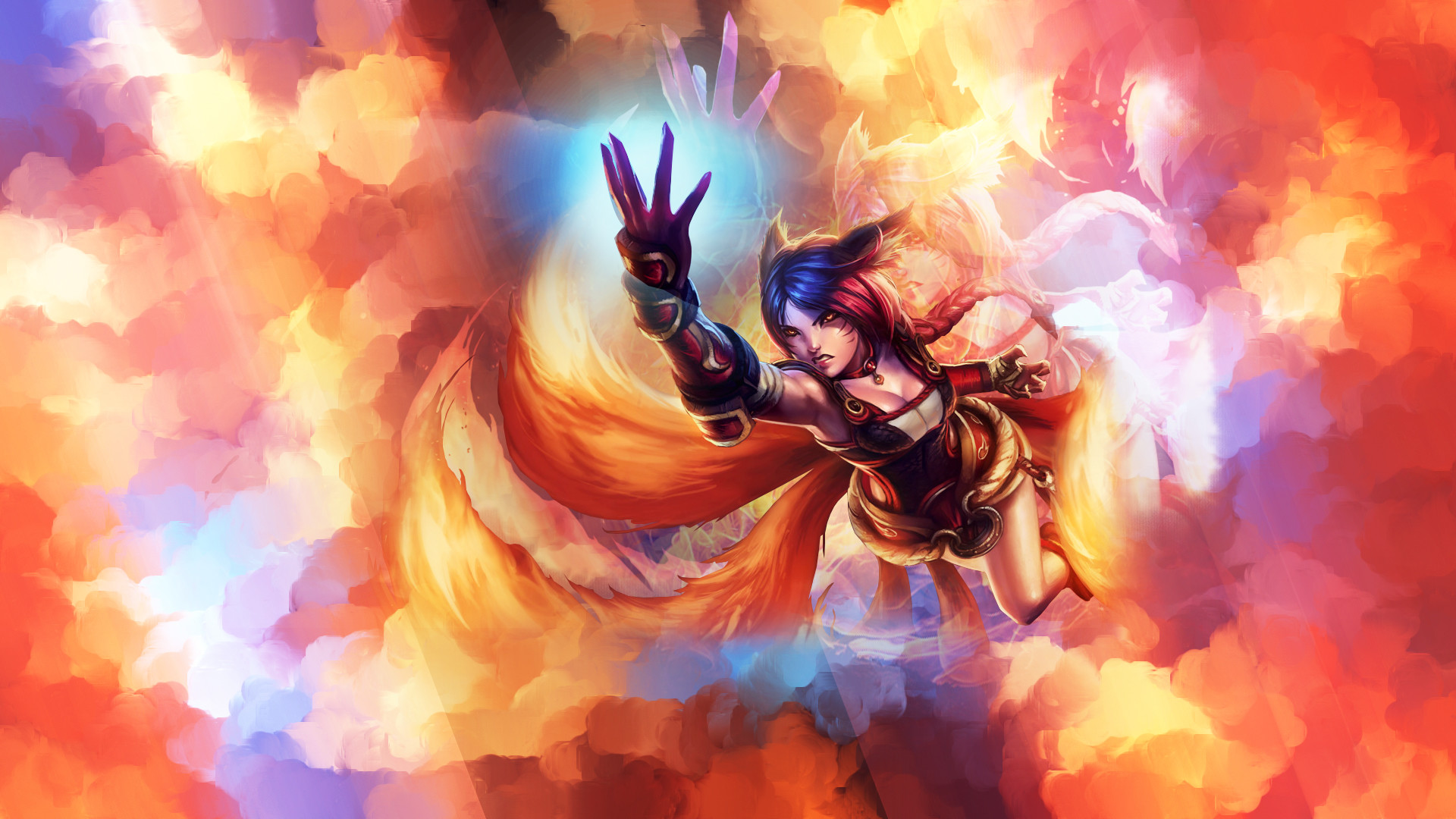 1920x1080 Foxfire Ahri Wallpaper by Platna Foxfire Ahri Wallpaper by Platna