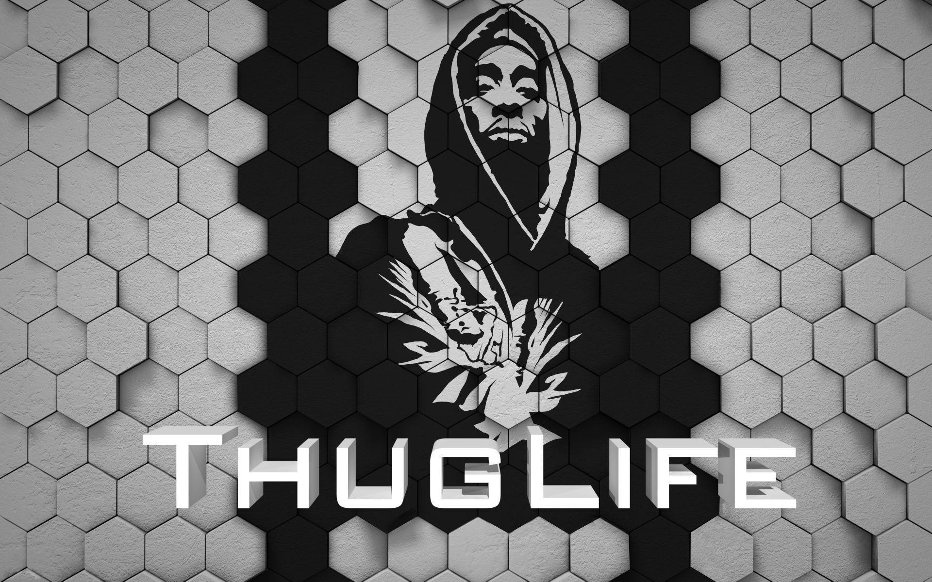 1920x1200 Images For Tupac Thug Life Wallpaper