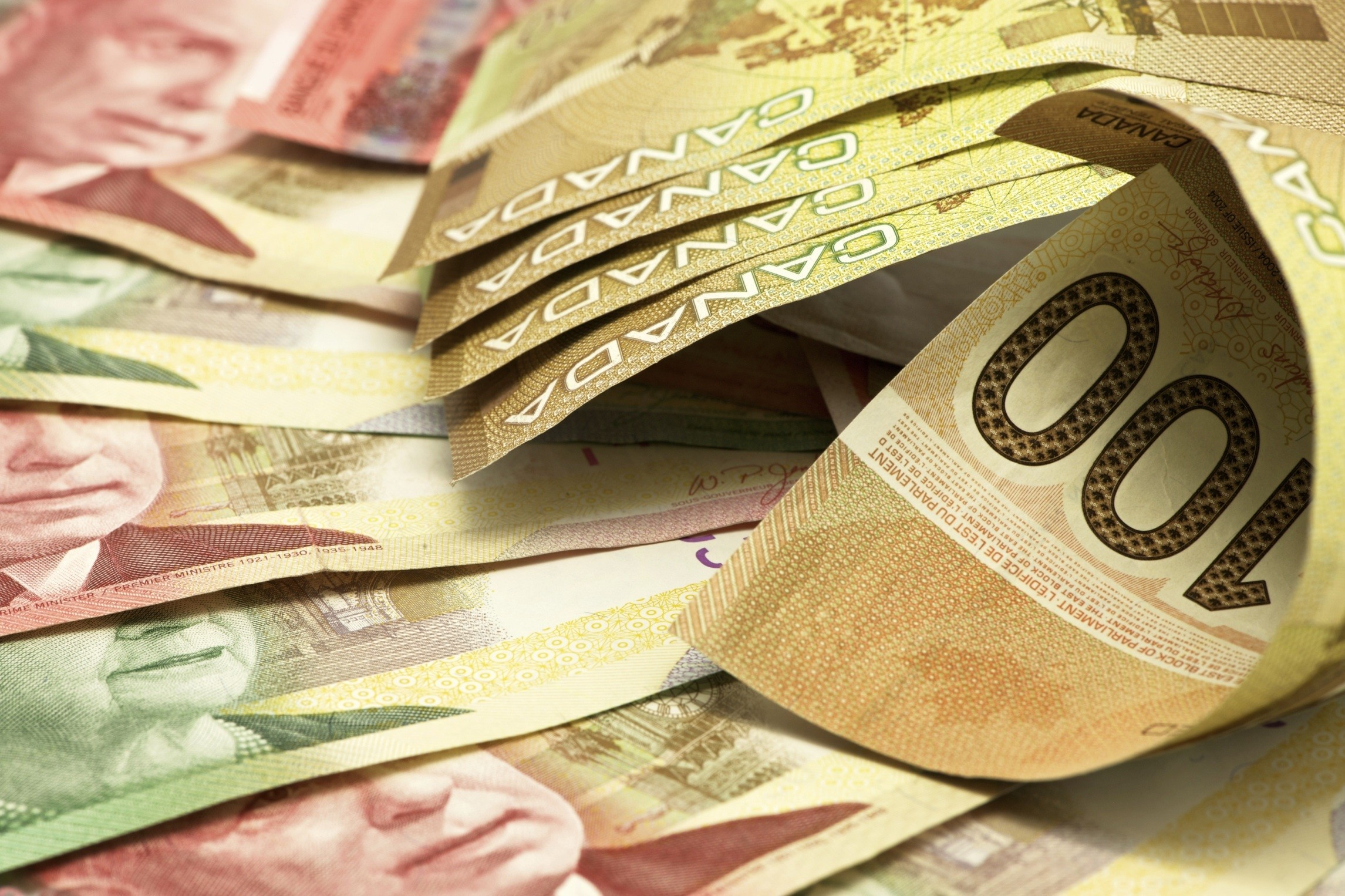2291x1526 Canadian Money Banknotes Wallpapers | MoneyWallpapers.com
