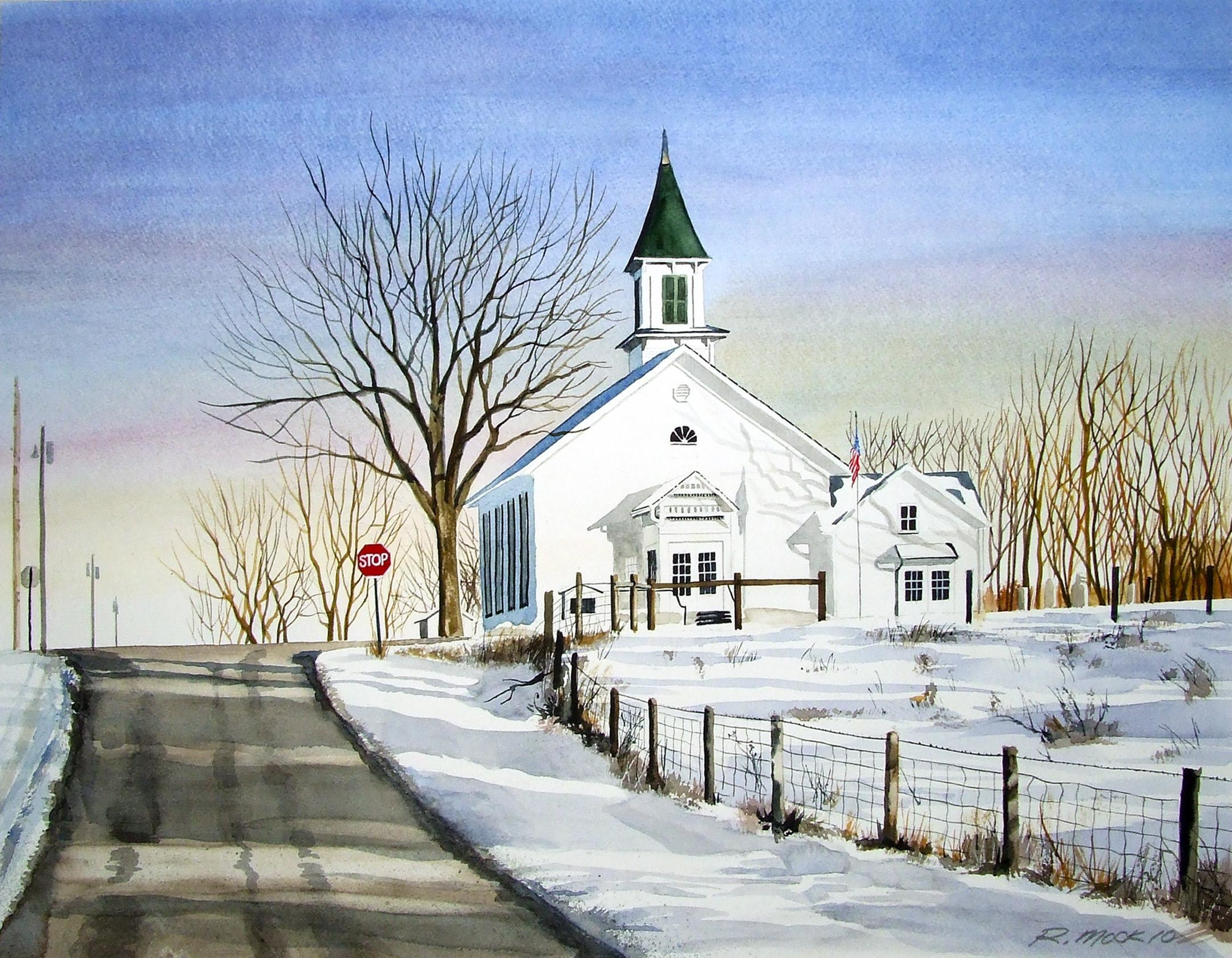 2160x1680 nice country church wallpaper