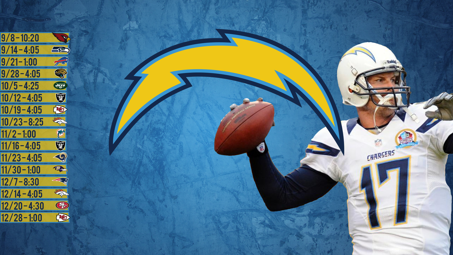 1920x1080 Just made a Chargers wallpaper with the 2014 scheduled on it. Let me know  if you like it.
