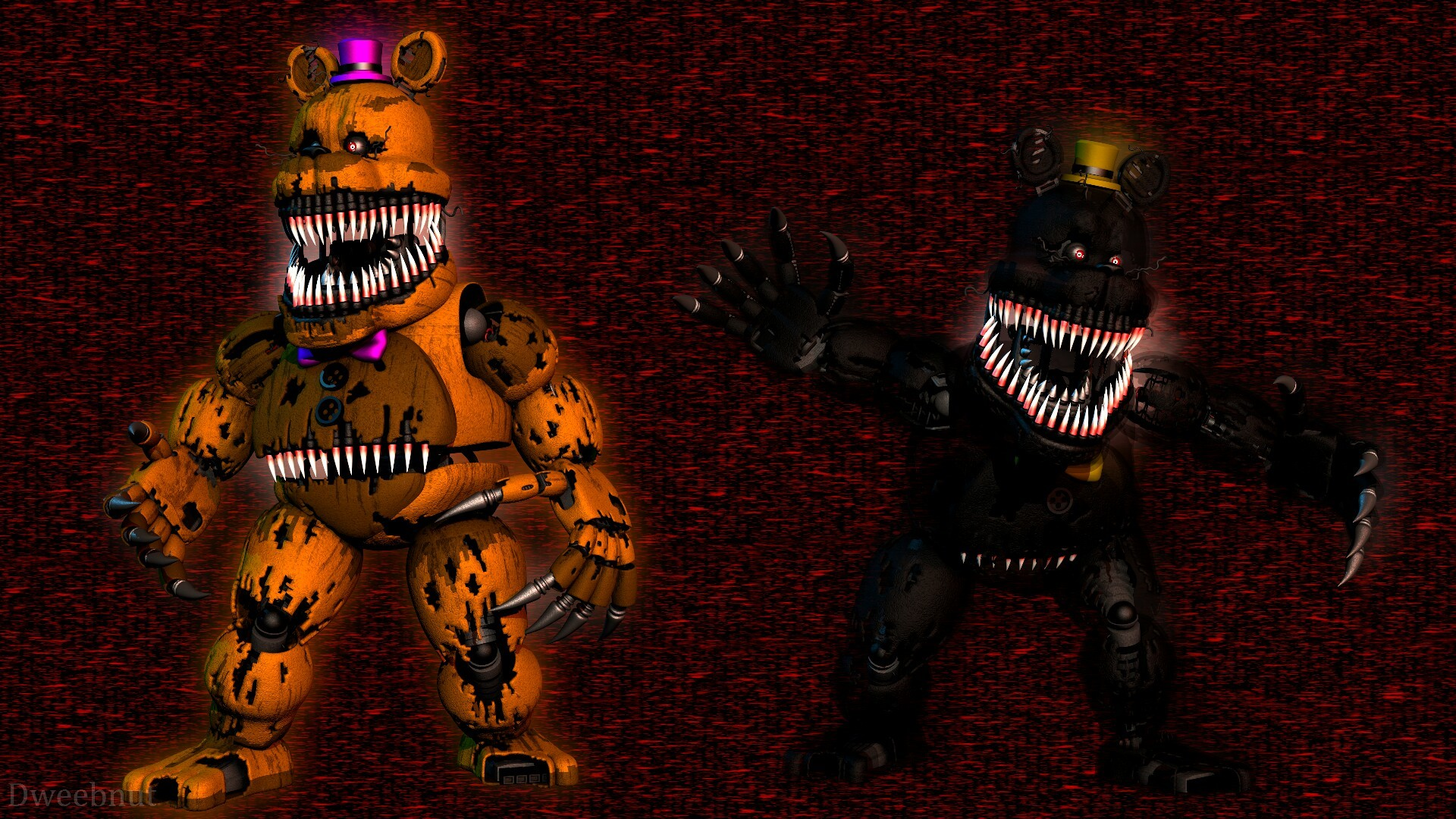 1920x1080 Is this your Nightmare? by Katsumi96Dokuro on DeviantArt | FNAF | Pinterest  | Art and deviantART