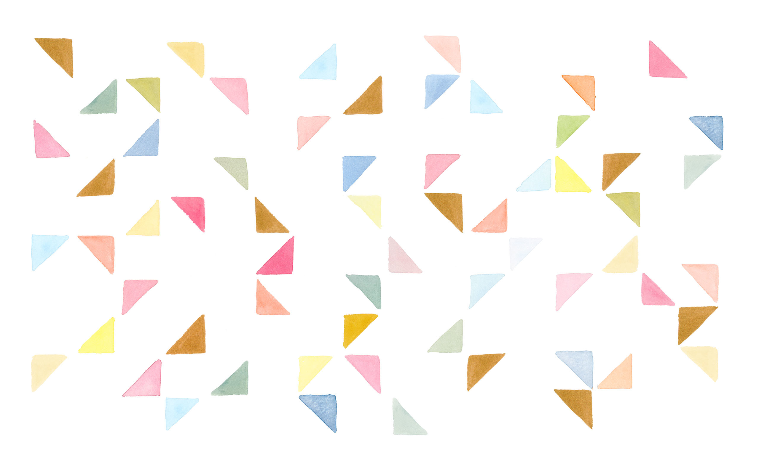 2560x1601 click to download the WATERCOLOR TRIANGLES (34295) DESKTOP WALLPAPER ...