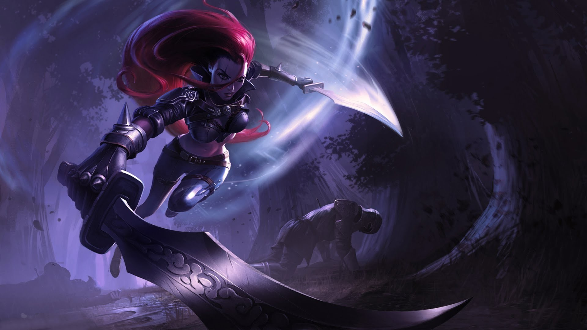 1920x1080 Katarina, League Of Legends Wallpapers HD / Desktop and Mobile Backgrounds