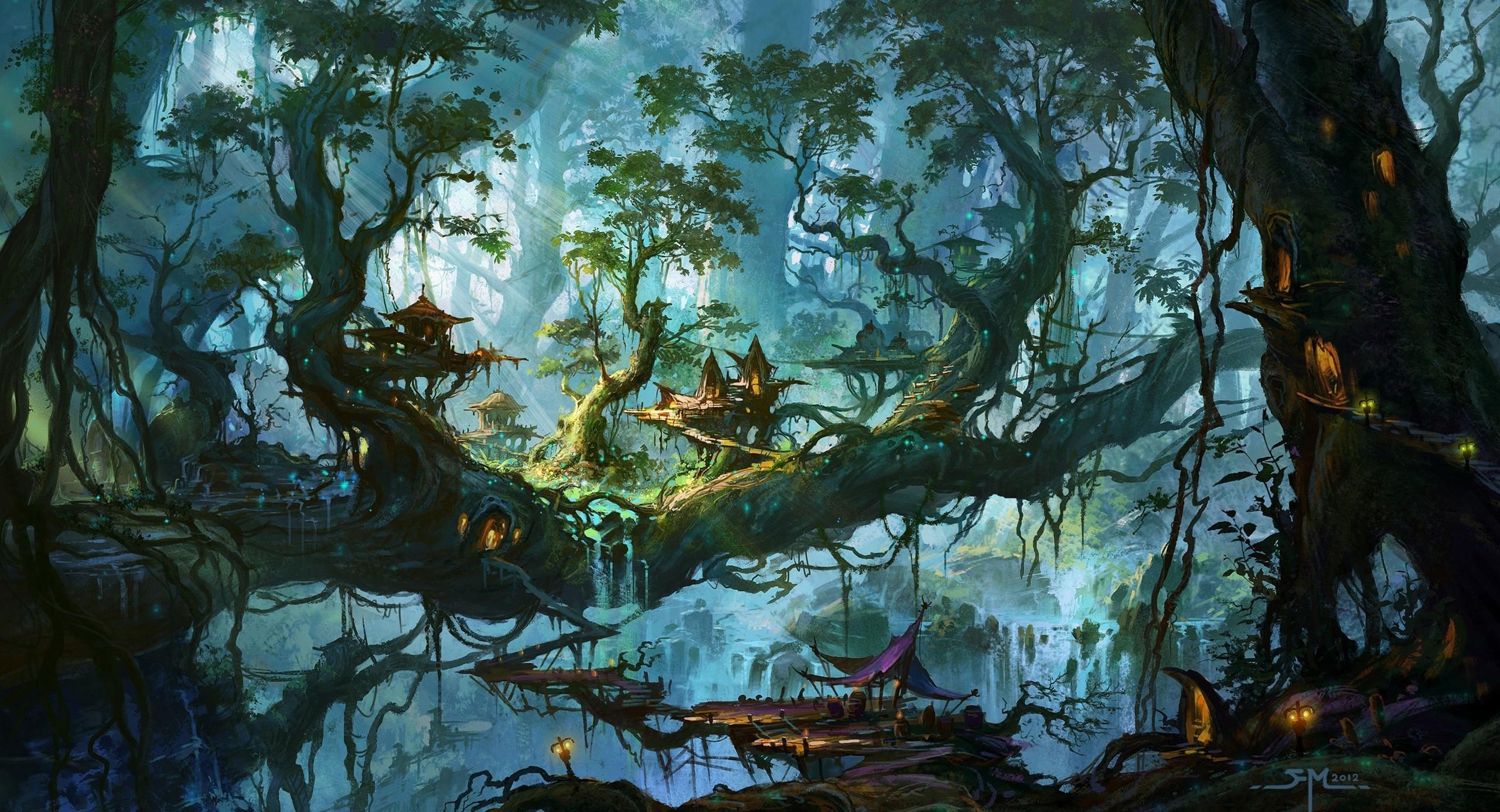 Fantasy Forest Wallpaper 85 Images