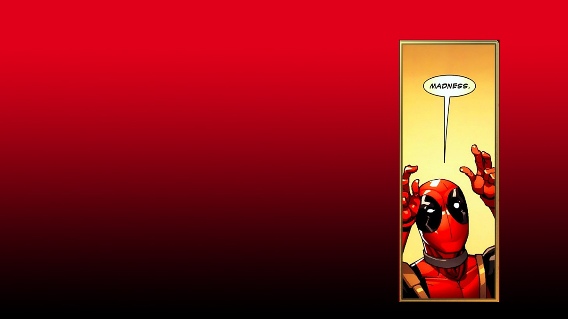 1920x1080 Comics - Deadpool Merc with a Mouth Wallpaper