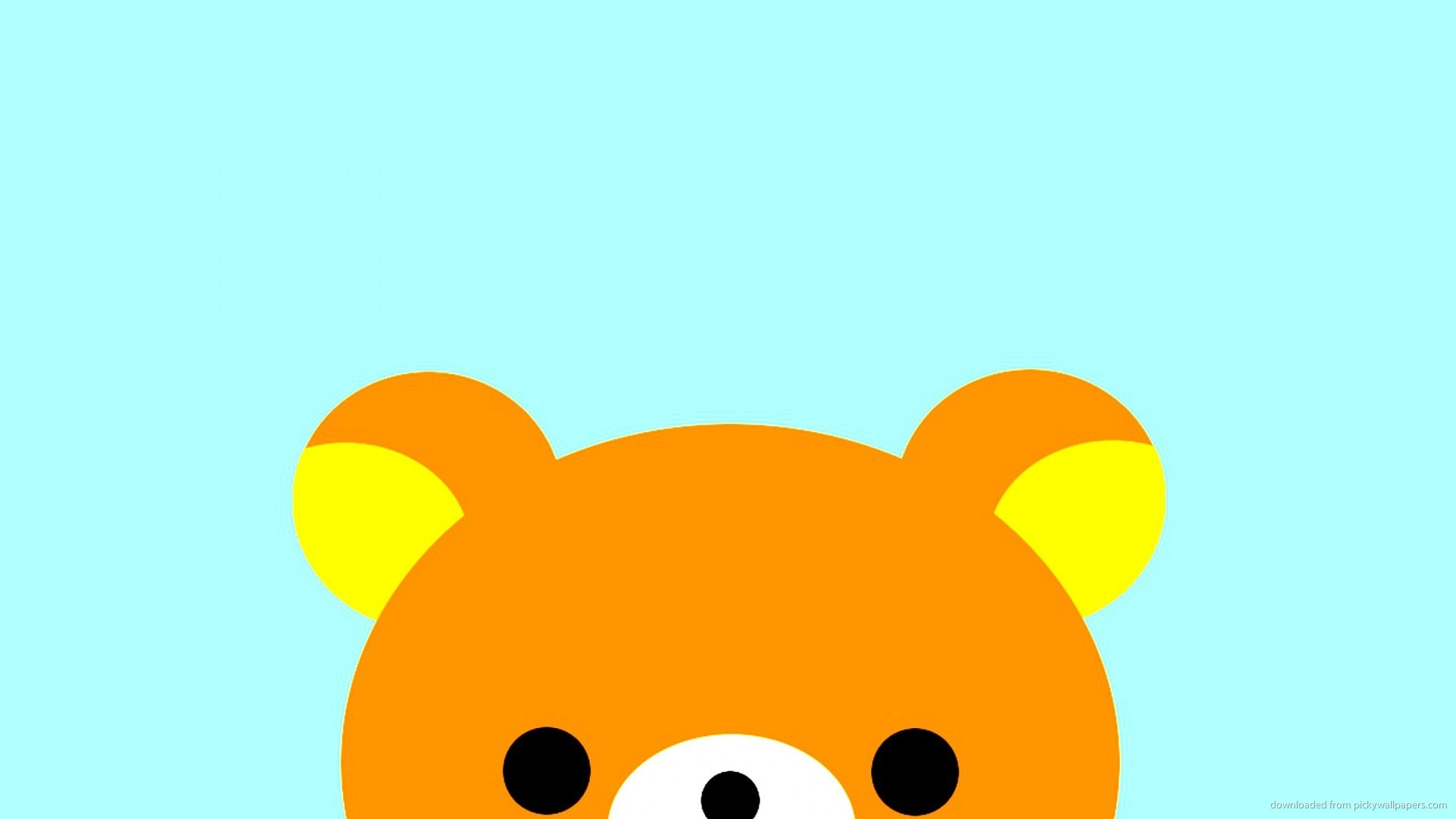 1920x1080 1024x768 Rilakkuma Face wallpaper