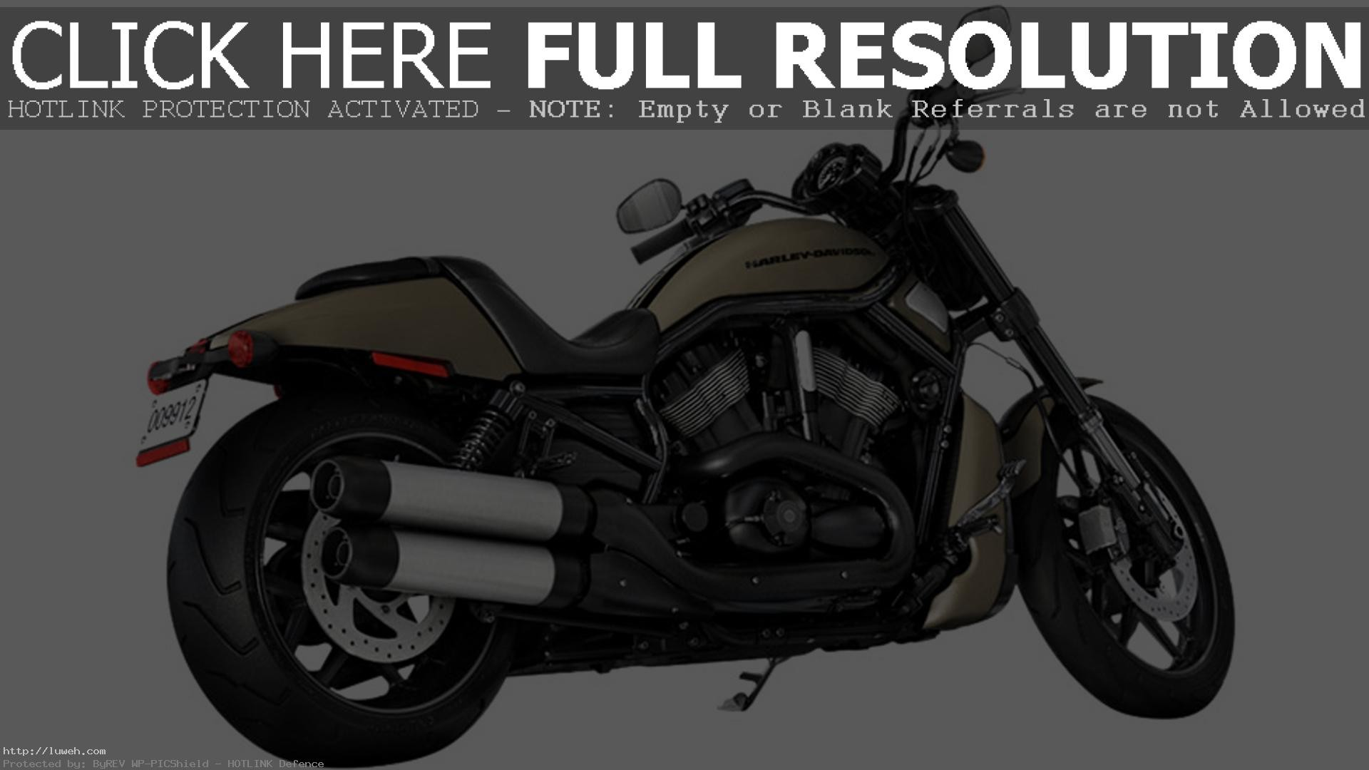 1920x1080 Wallpapers 2014 Harley-Davidson VRSCDX Night Rod Special