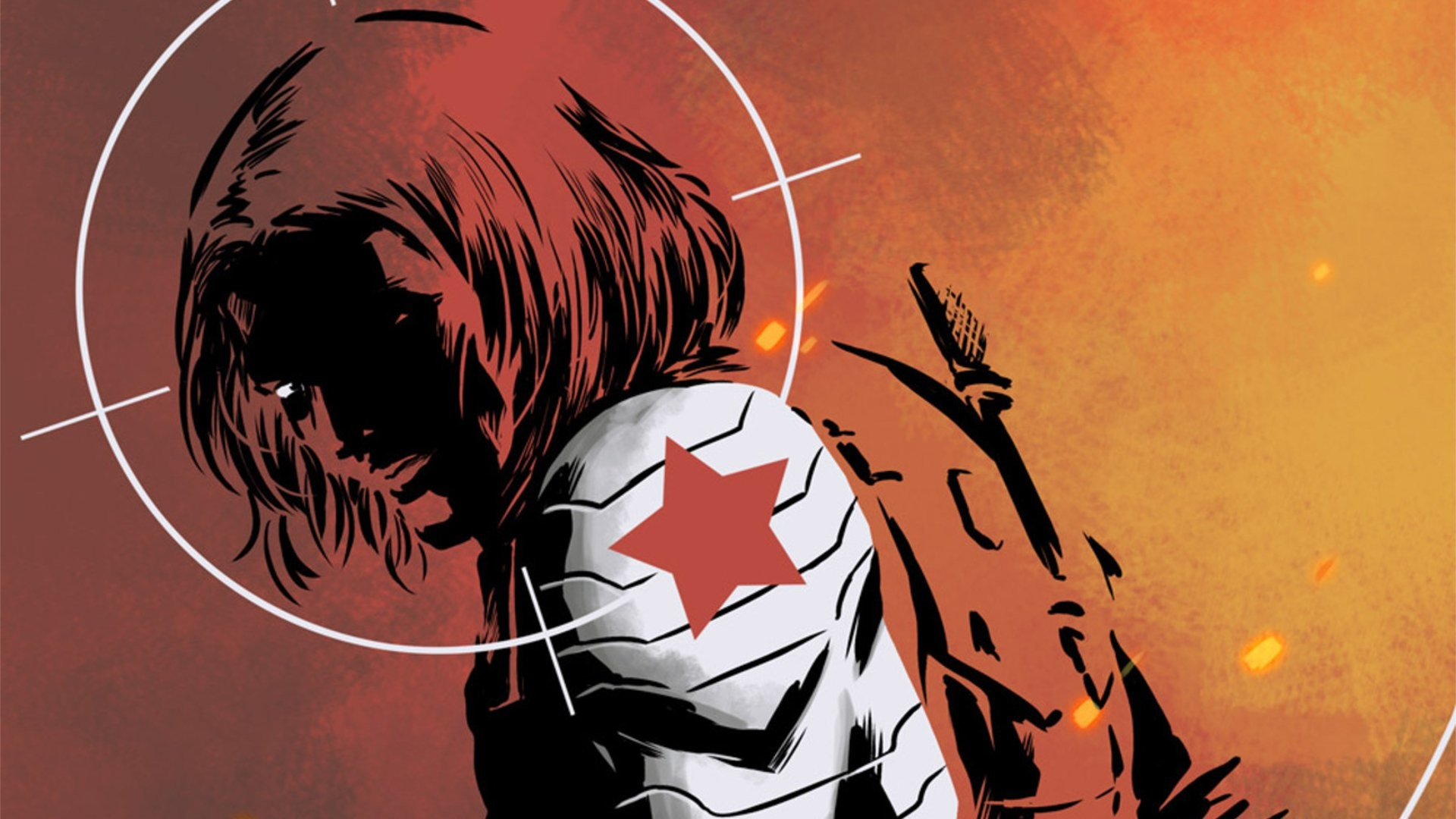 1920x1080 Comics - Winter Soldier Marvel Comics Bucky Barnes Wallpaper