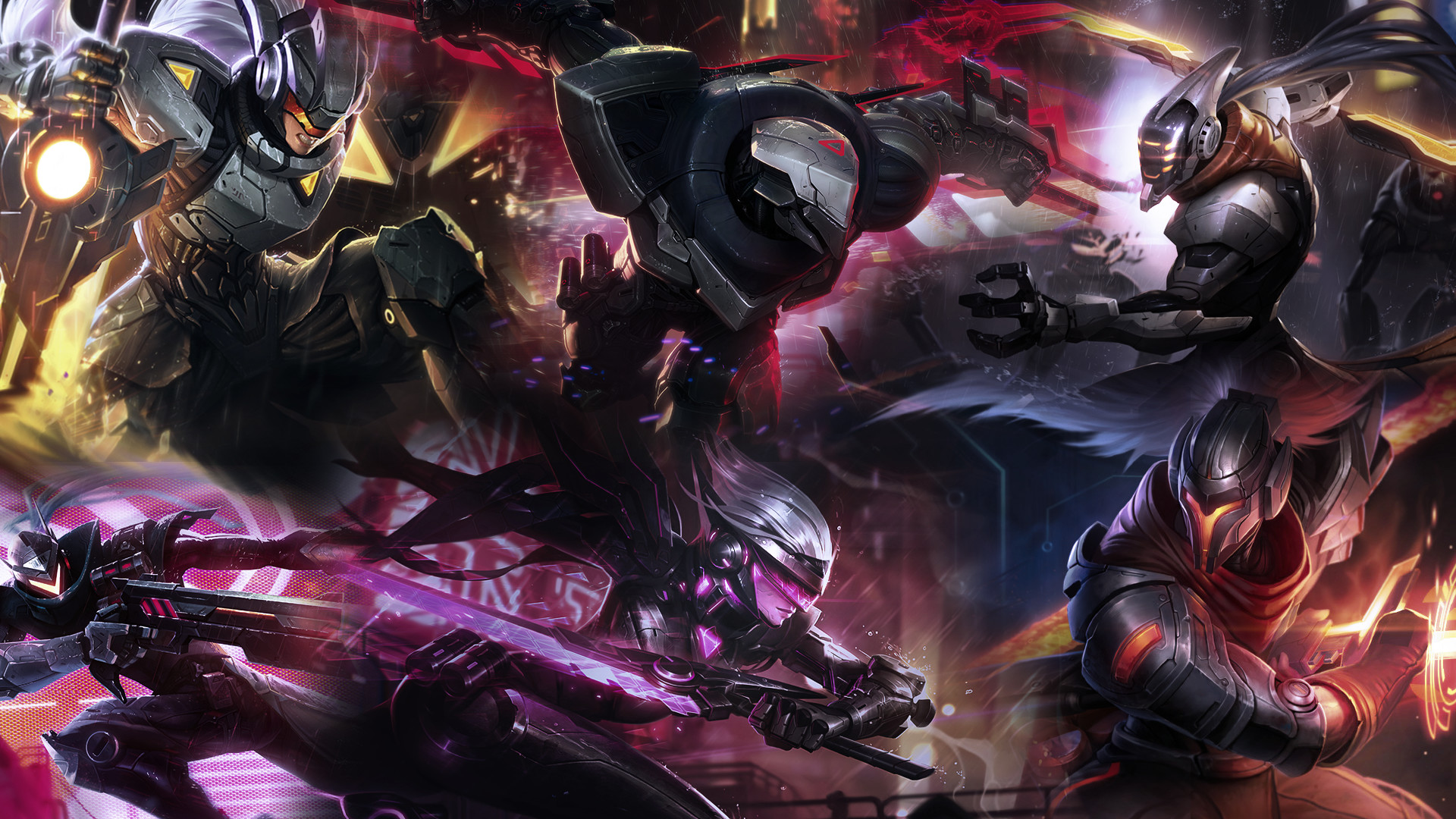 League of Legends Project Wallpaper