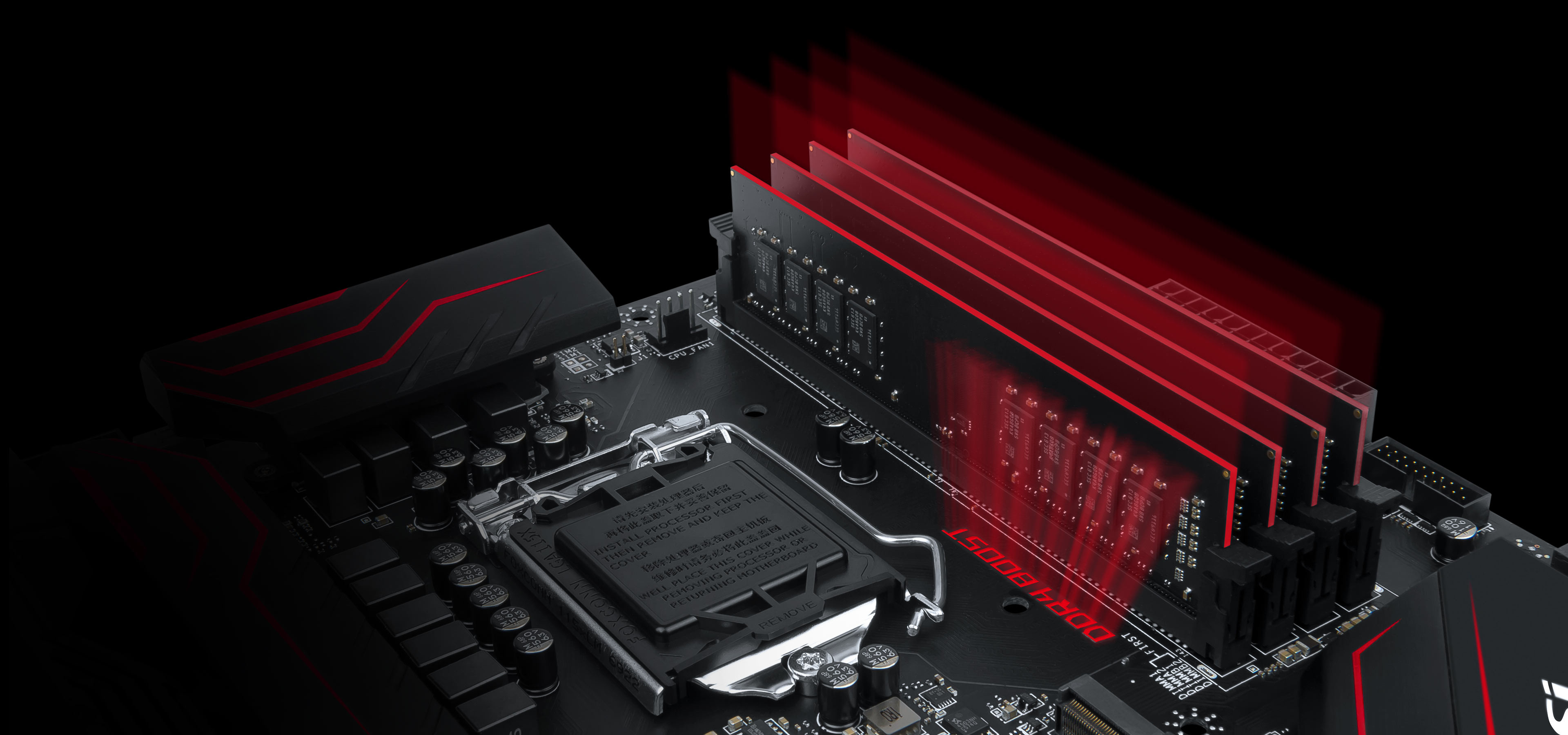 3840x1800 MSI motherboards are crammed with features to fuel your gaming rig's memory  with more speed, higher overclockability and increased stability.