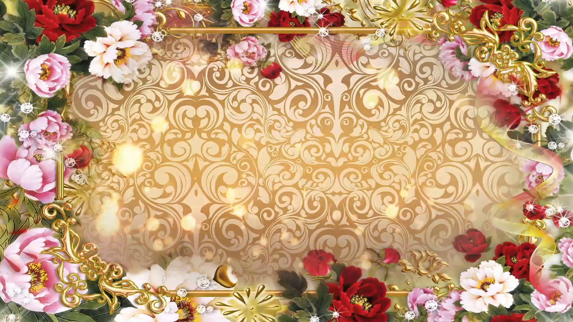 Wedding background images 60 images 1920x1080 multicolored flowers abstract wedding background 06 stock video footage videoblocks voltagebd Gallery