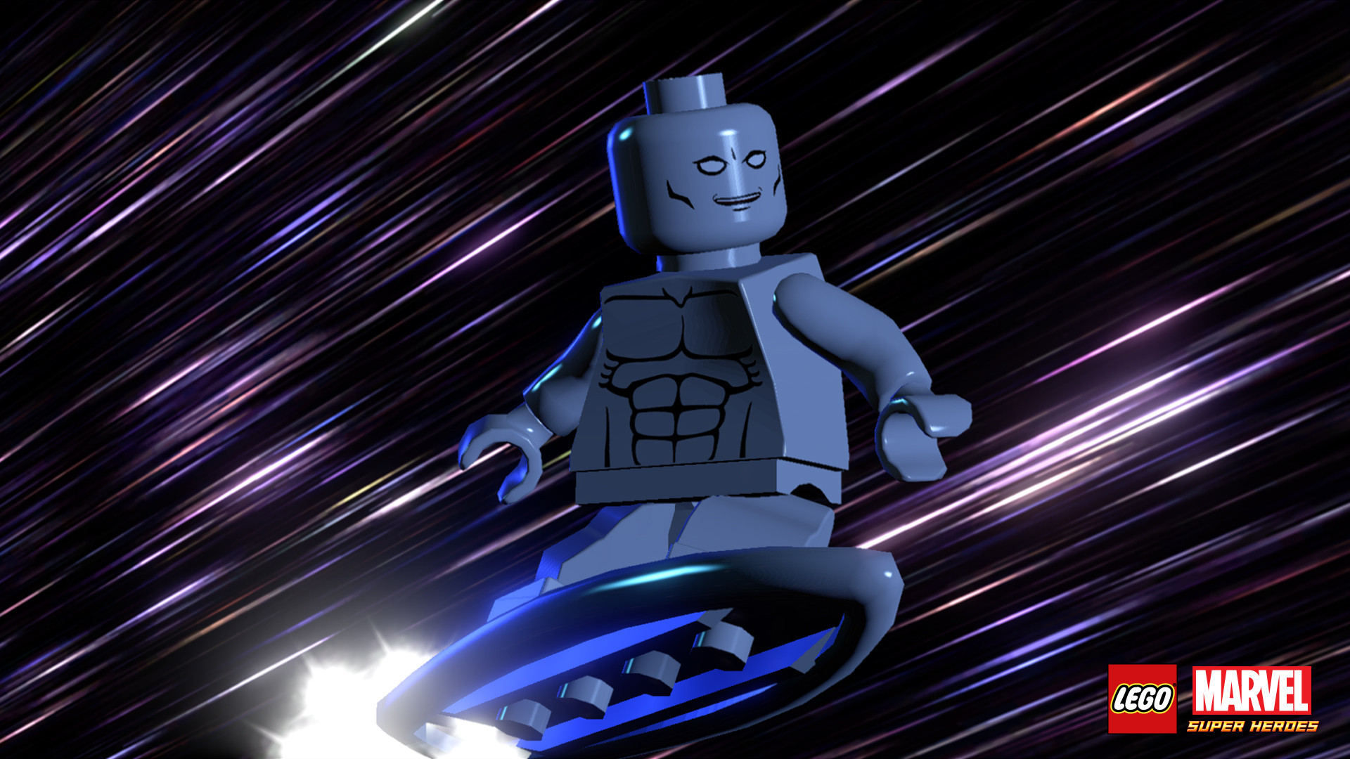 1920x1080 The Silver Surfer as he appears in Lego Marvel Superheroes