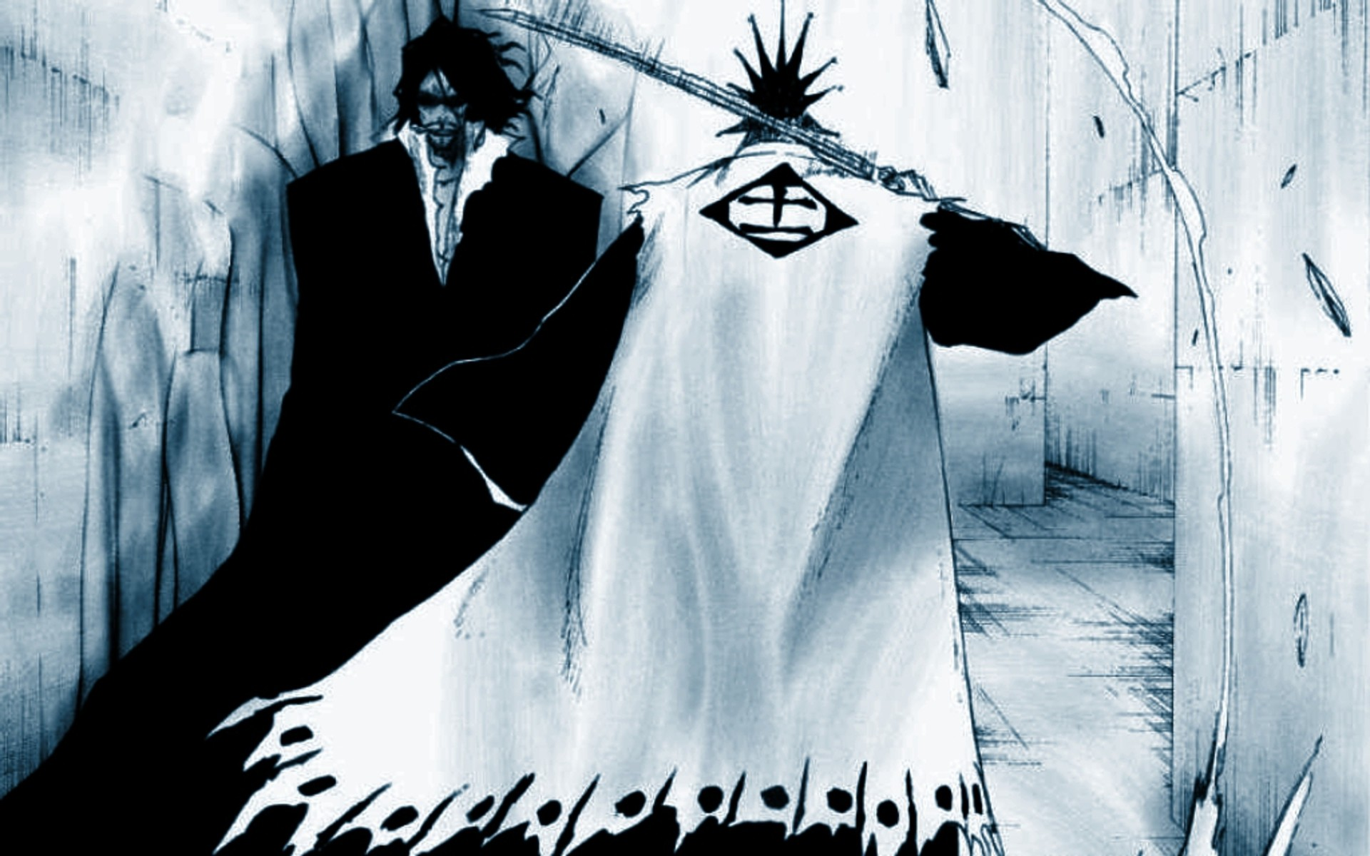 1920x1200 ... Zangetsu - BLEACH - Wallpaper #348455 - Zerochan Anime Image Board ...